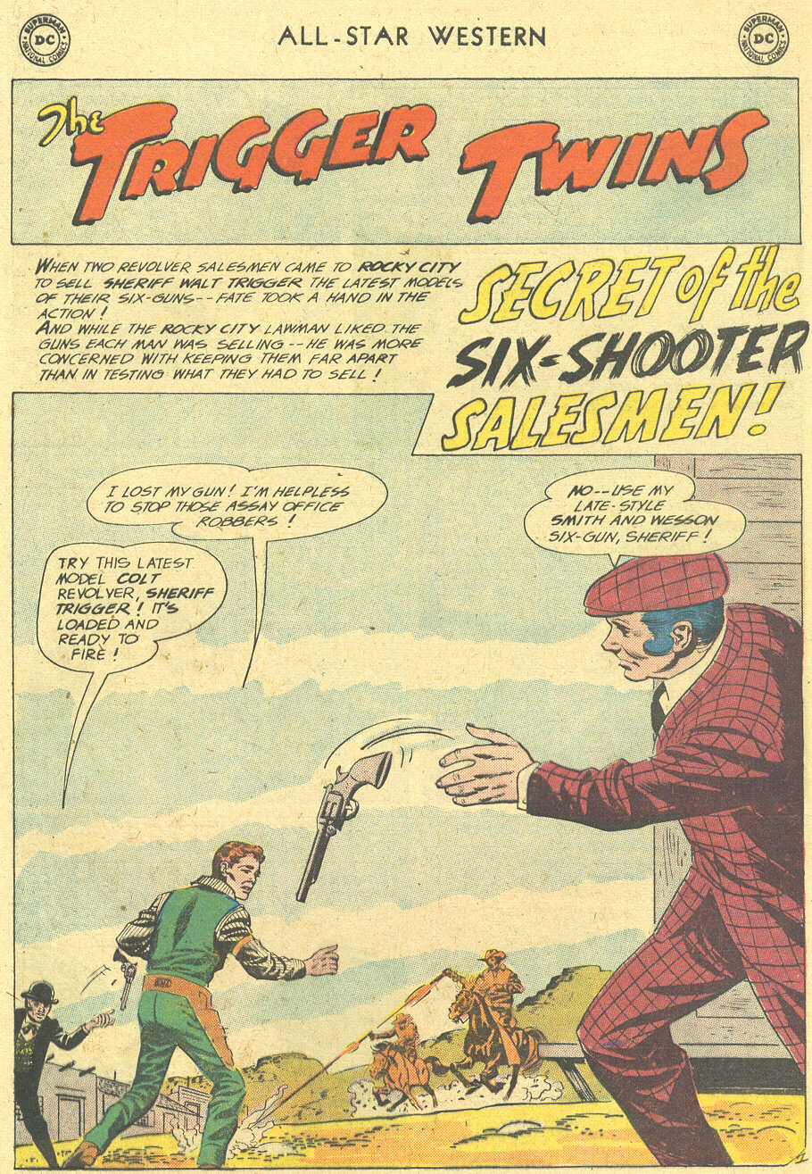 Read online All-Star Western (1951) comic -  Issue #113 - 25