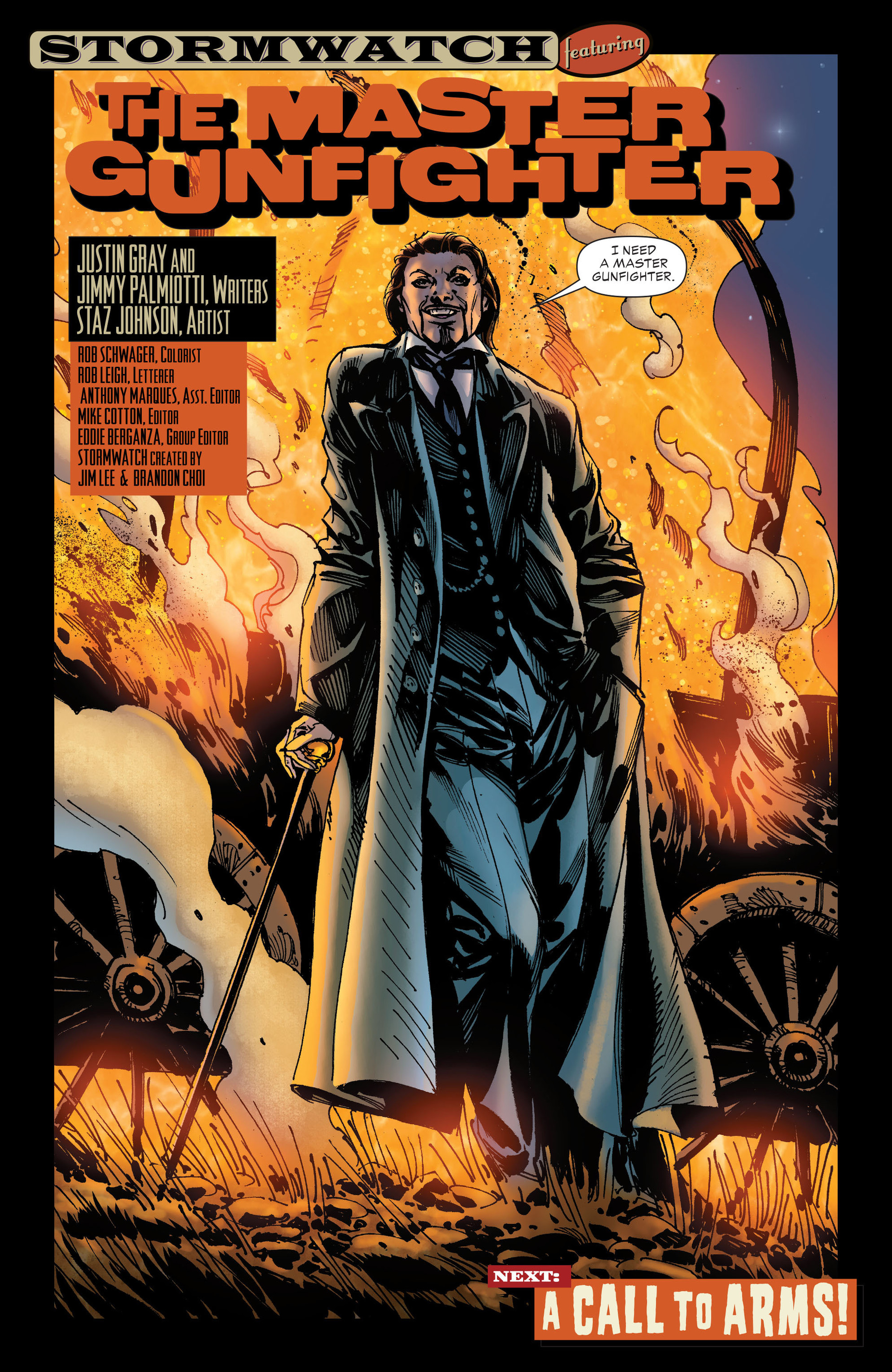 Read online All-Star Western (2011) comic -  Issue #19 - 32