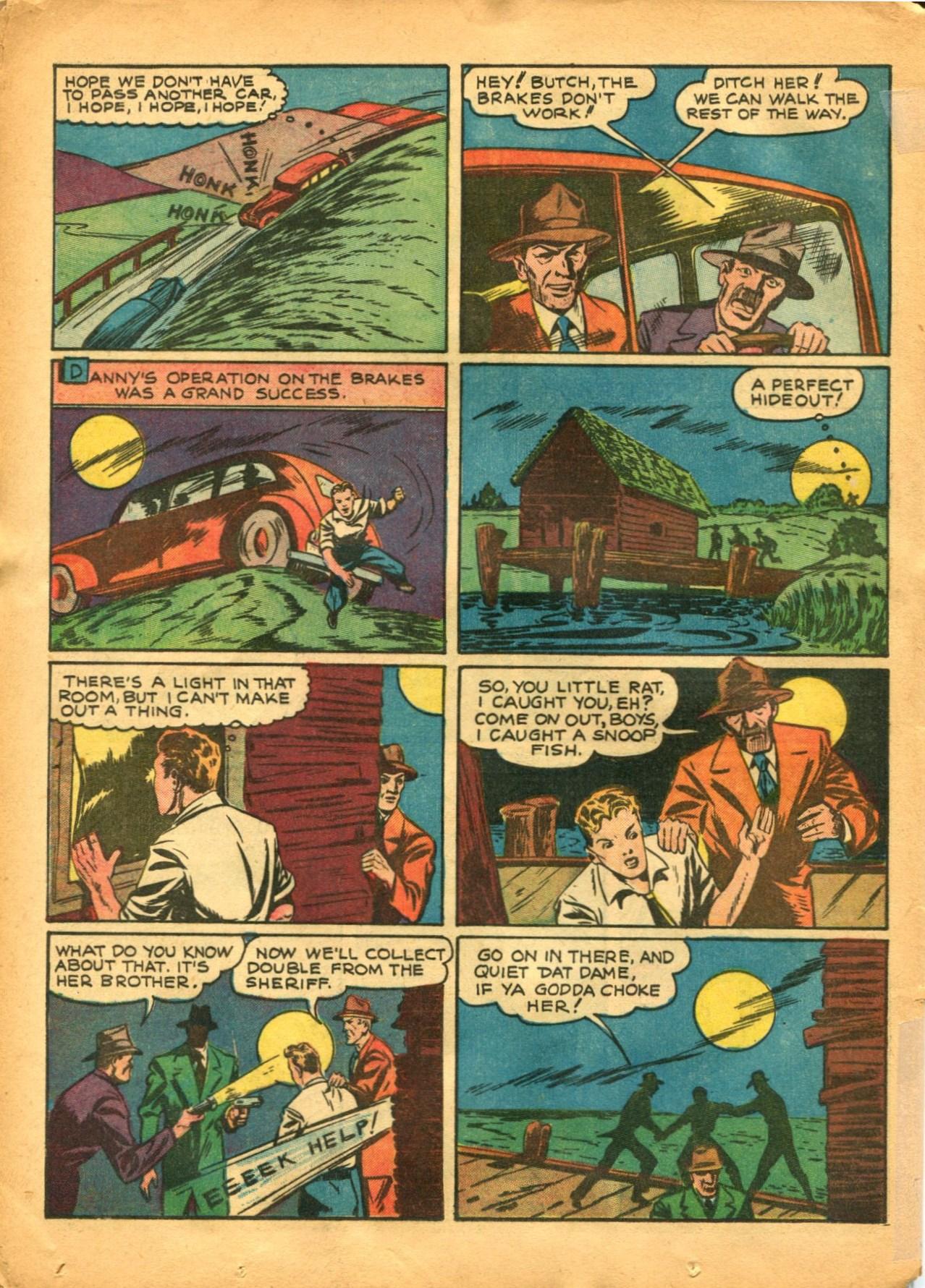 Read online Shadow Comics comic -  Issue #12 - 46
