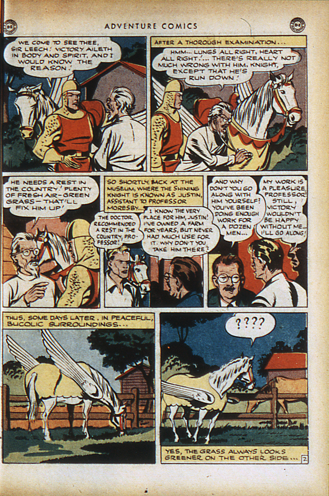 Read online Adventure Comics (1938) comic -  Issue #95 - 16