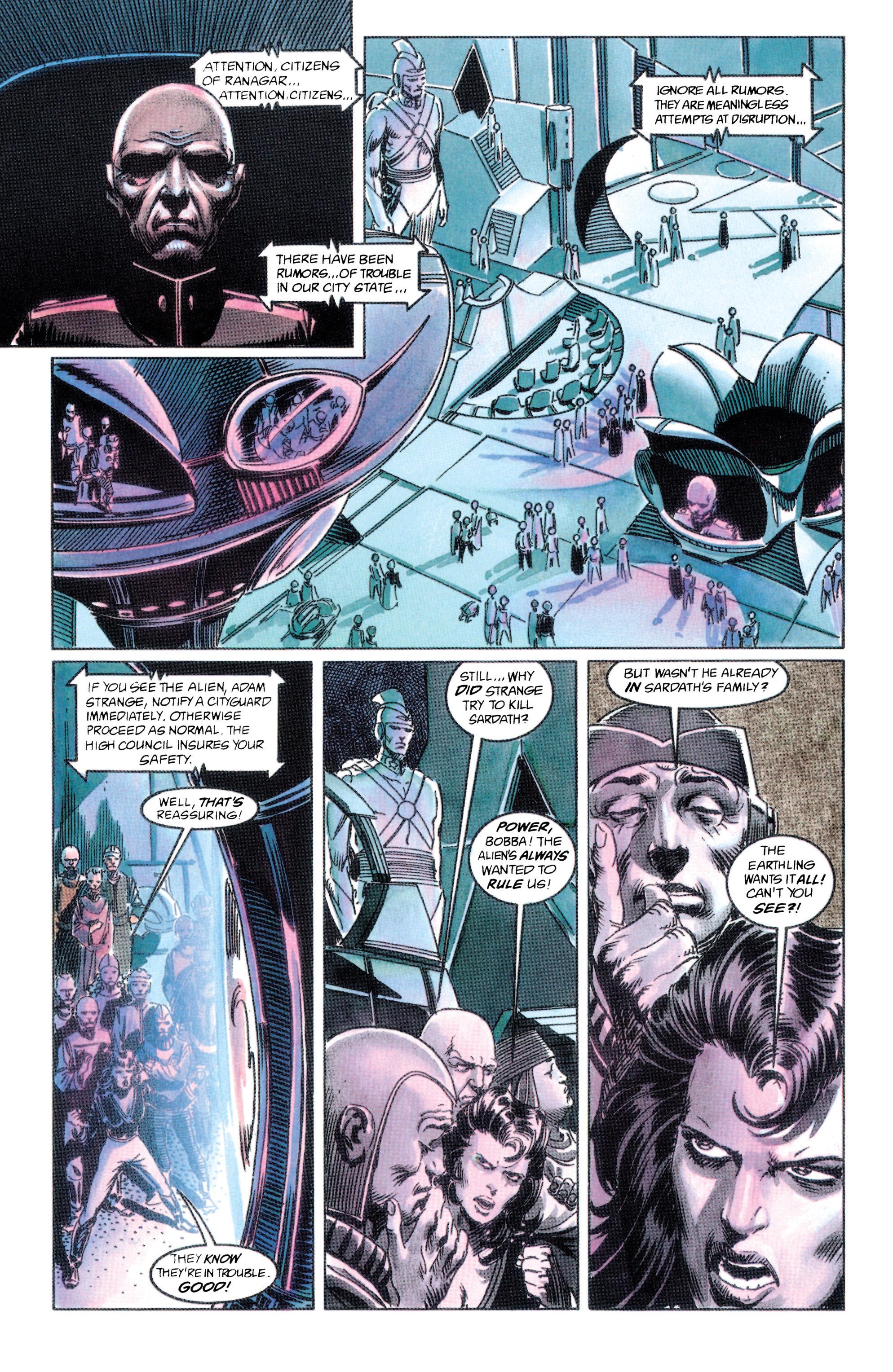 Read online Adam Strange (1990) comic -  Issue #2 - 8