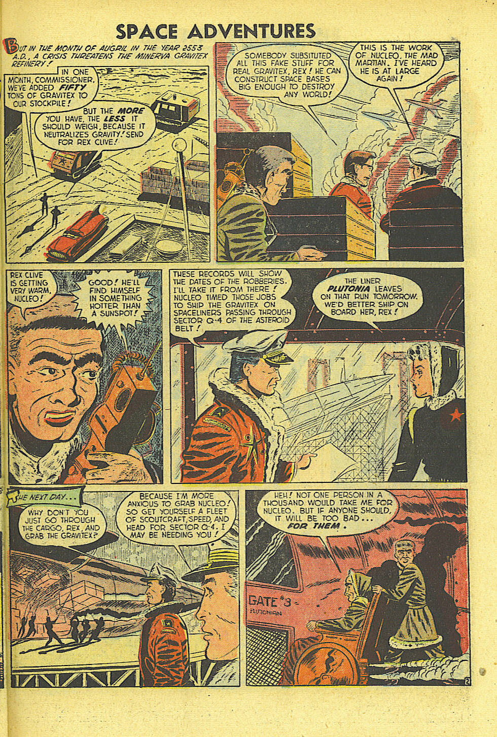 Space Adventures (1952) issue 4 - Page 20