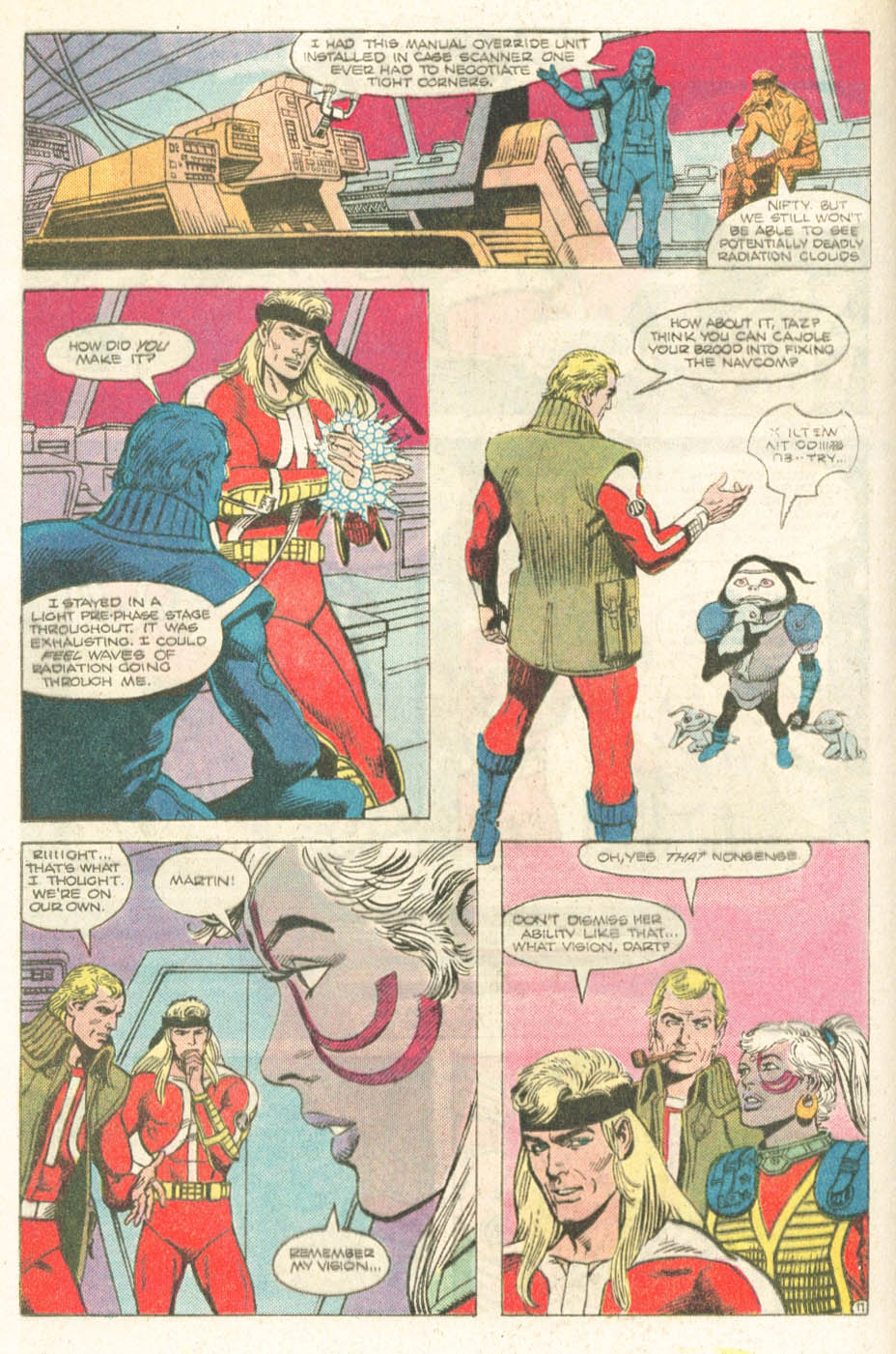 Read online Atari Force (1984) comic -  Issue #18 - 13