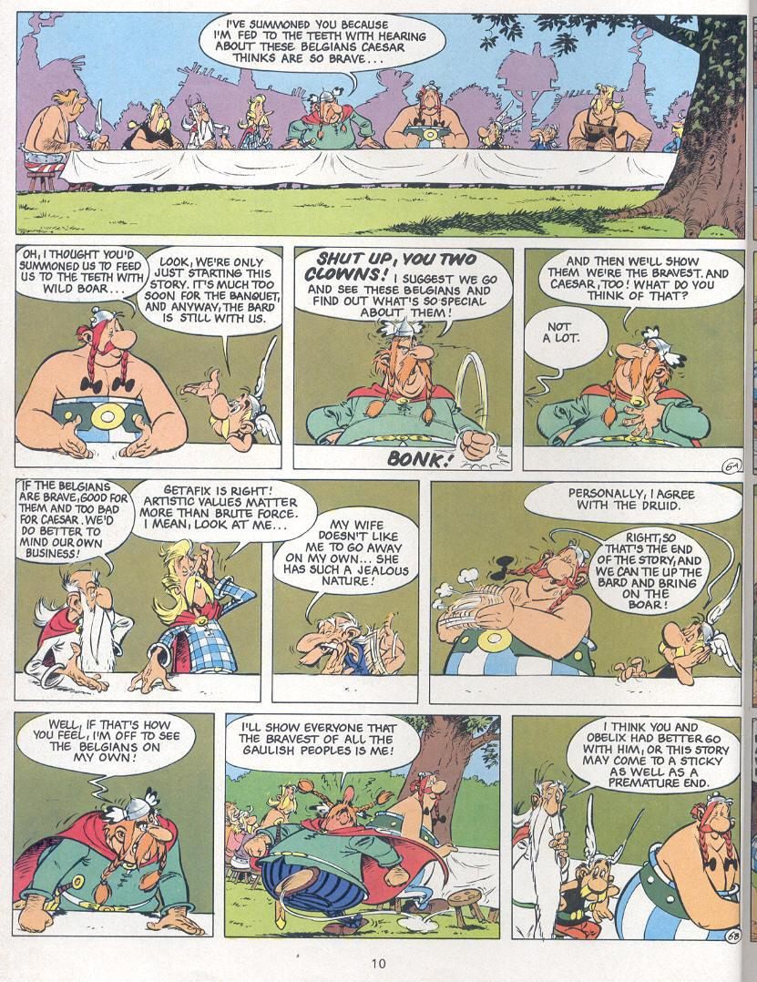 Read online Asterix comic -  Issue #24 - 7
