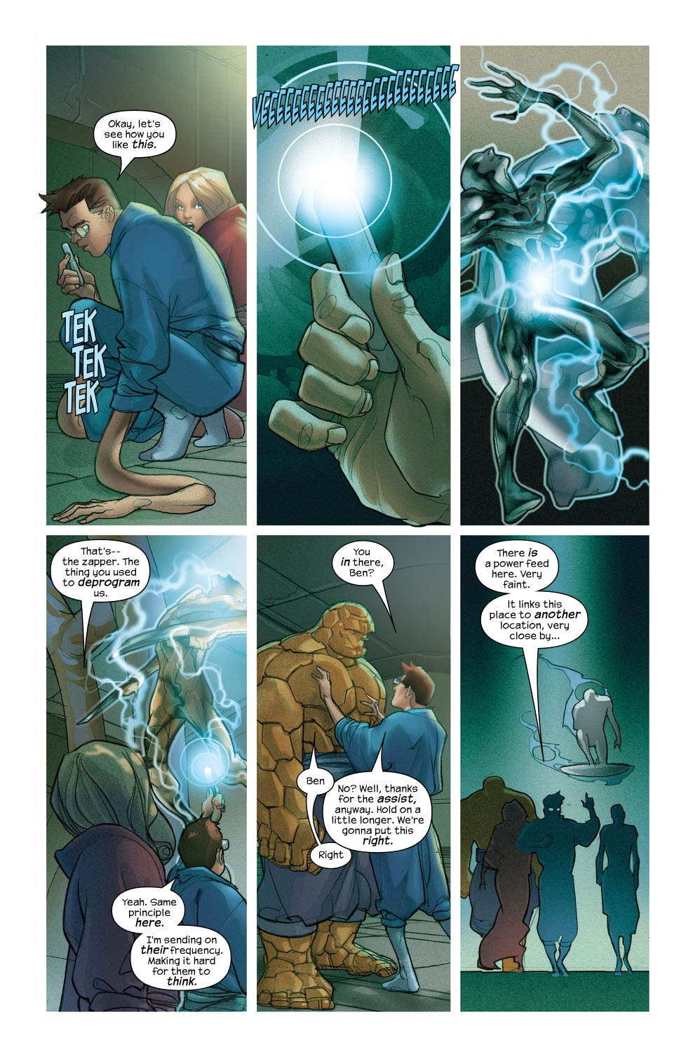 Read online Ultimate Fantastic Four (2004) comic -  Issue #46 - 13