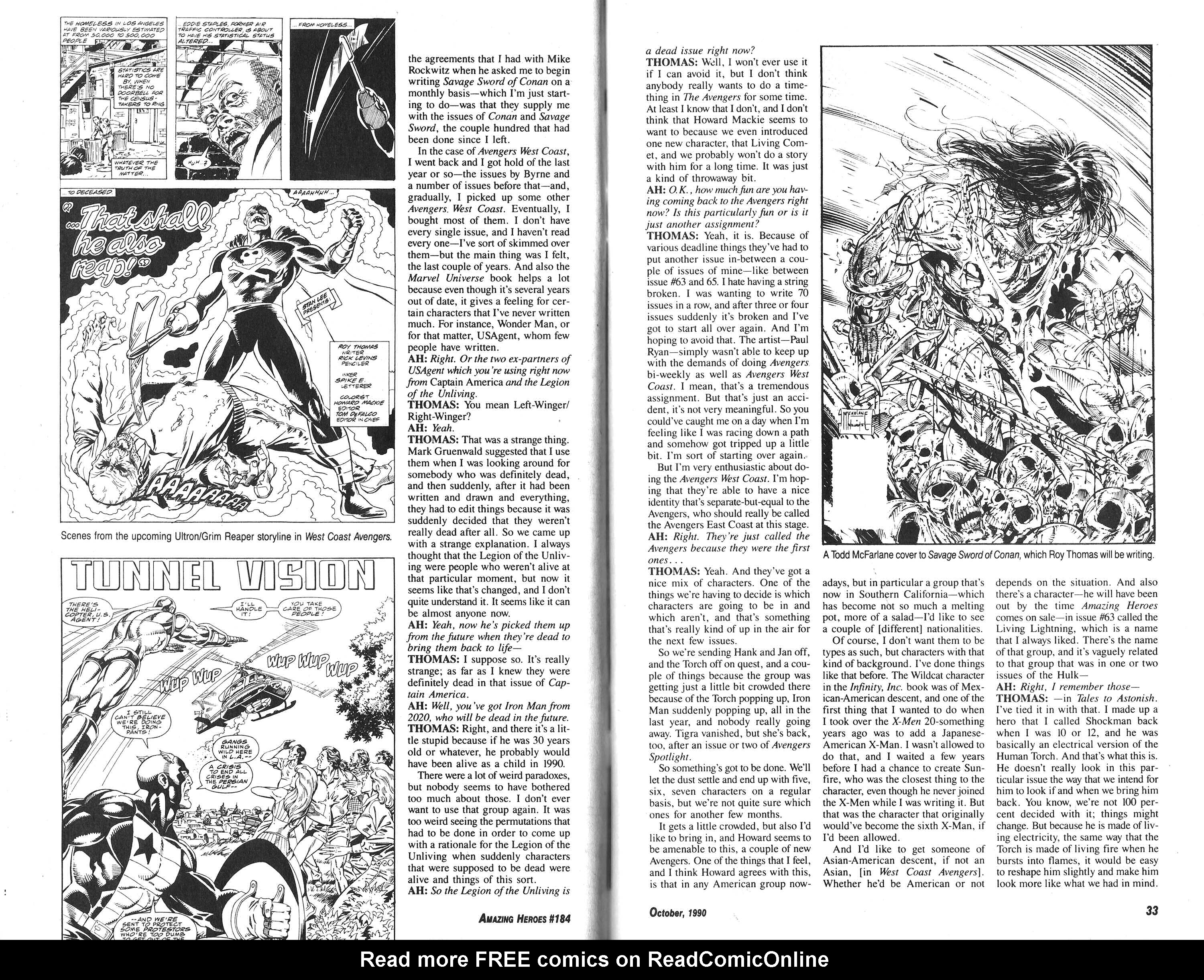 Read online Amazing Heroes comic -  Issue #184 - 17