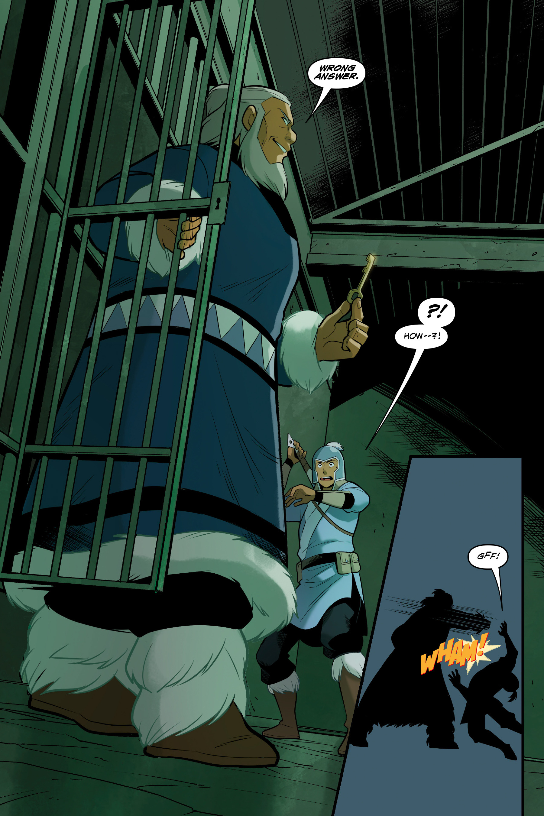Read online Nickelodeon Avatar: The Last Airbender - North and South comic -  Issue #3 - 21