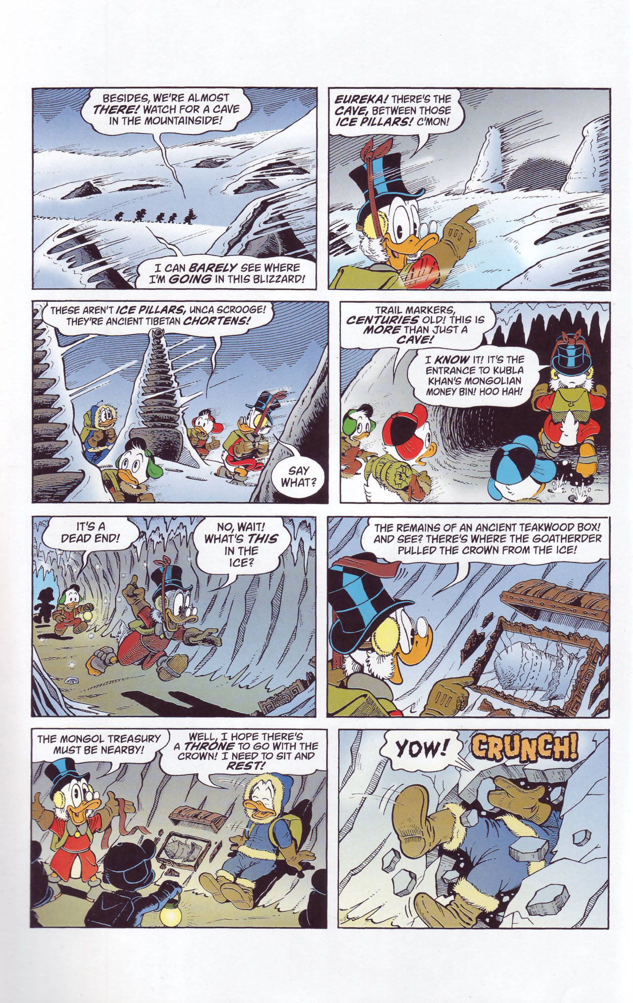 Read online Uncle Scrooge (1953) comic -  Issue #357 - 6