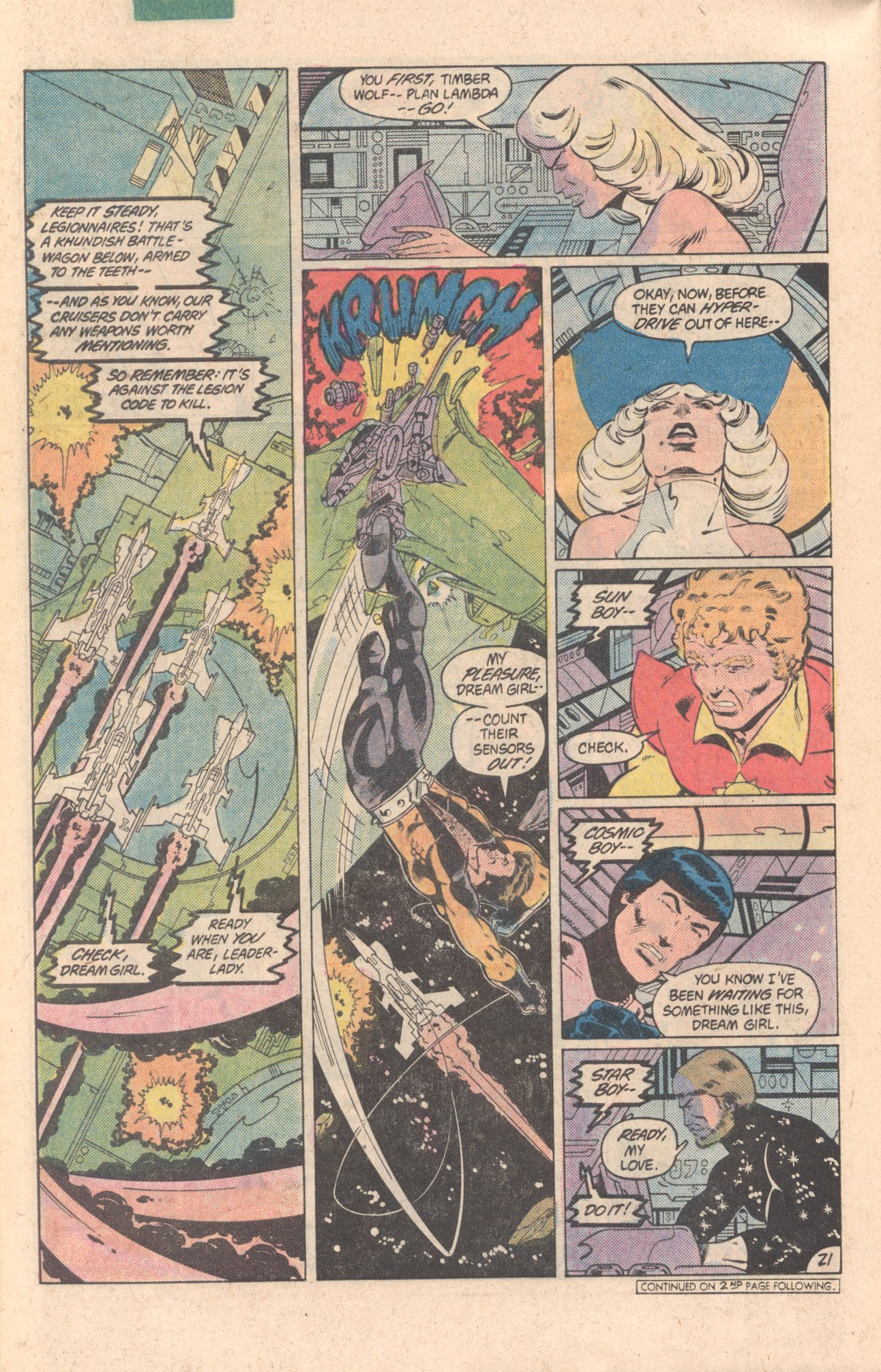 Legion of Super-Heroes (1980) 299 Page 21