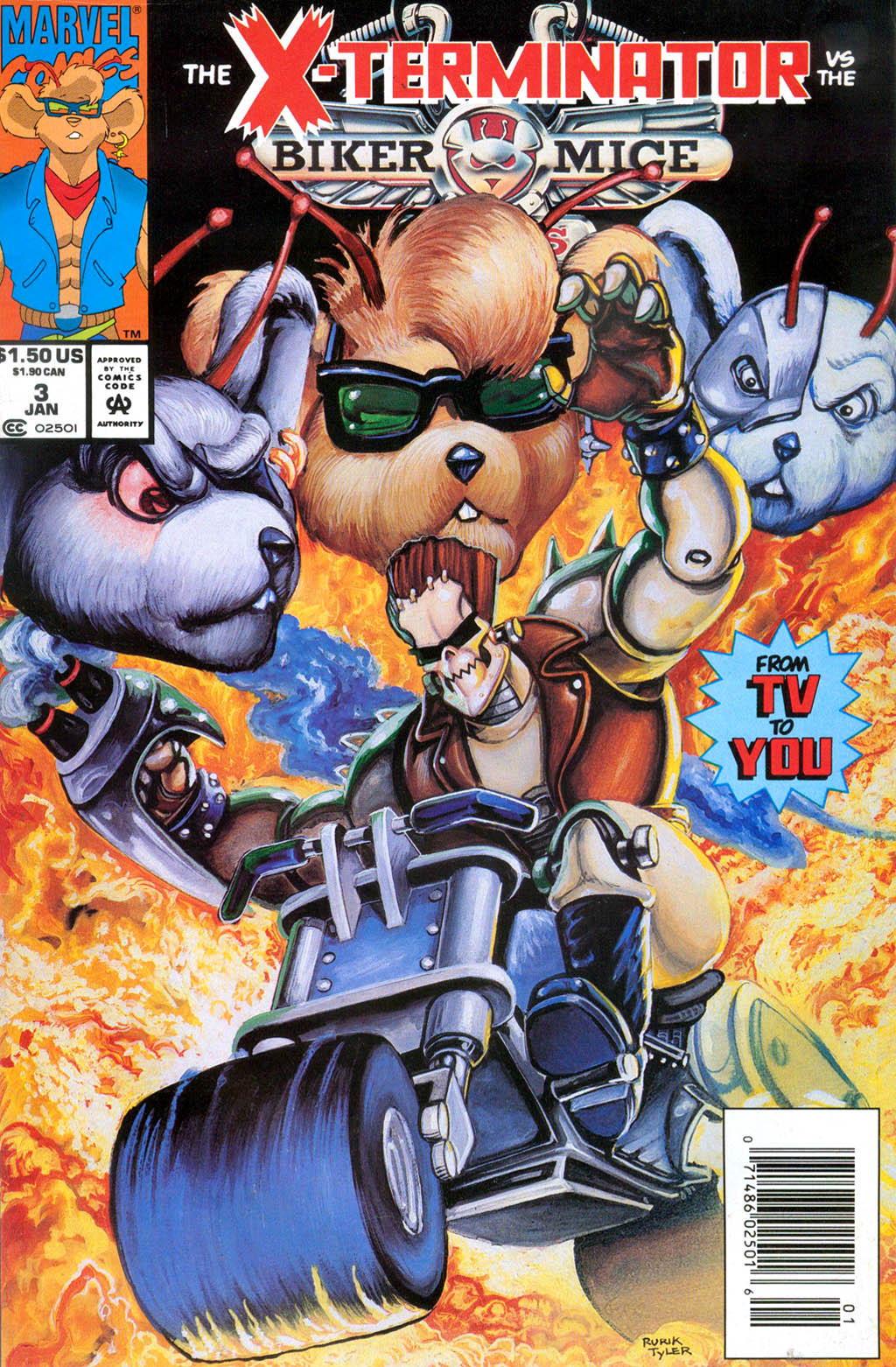 Biker Mice from Mars 3 Page 1