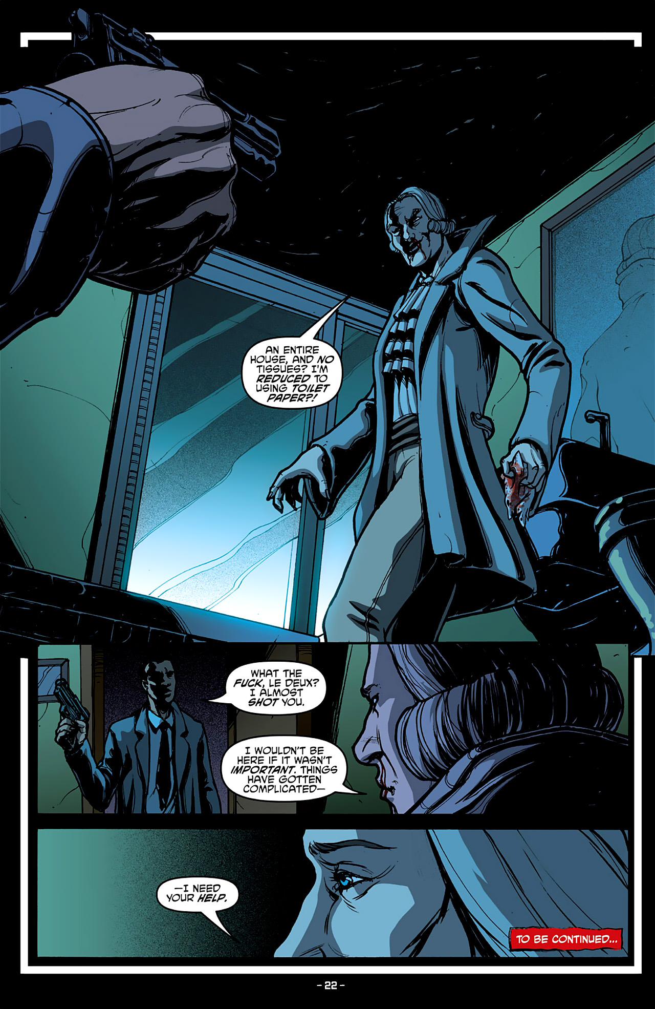 Read online True Blood: French Quarter comic -  Issue #4 - 26
