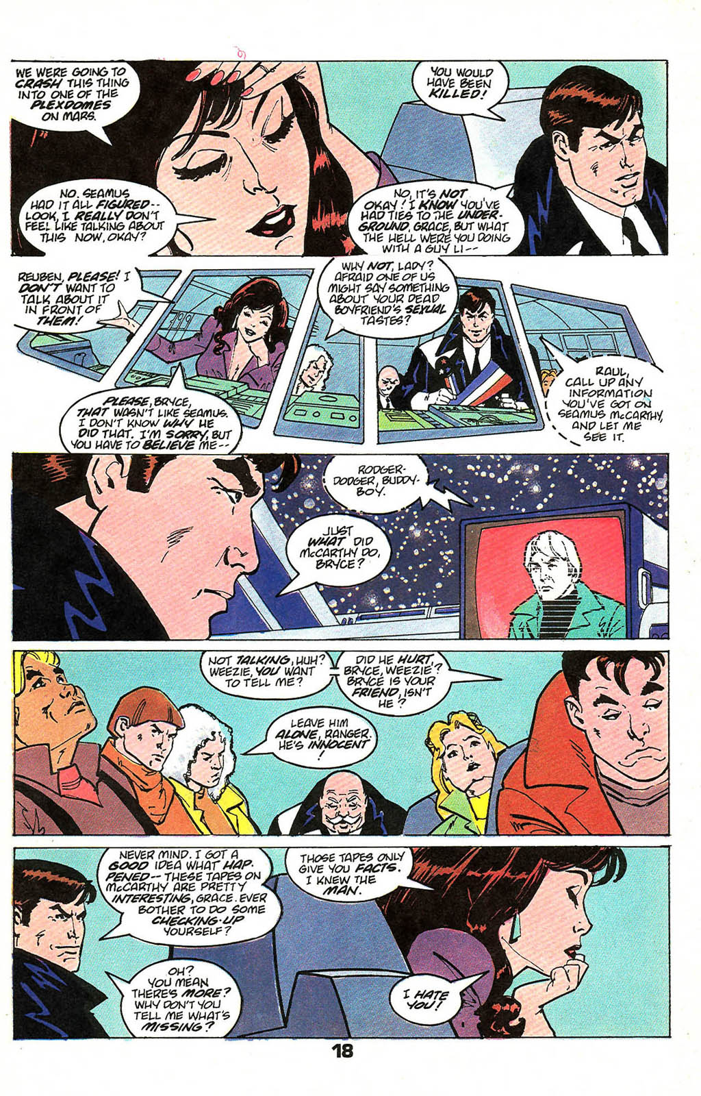 Read online American Flagg! comic -  Issue #49 - 24