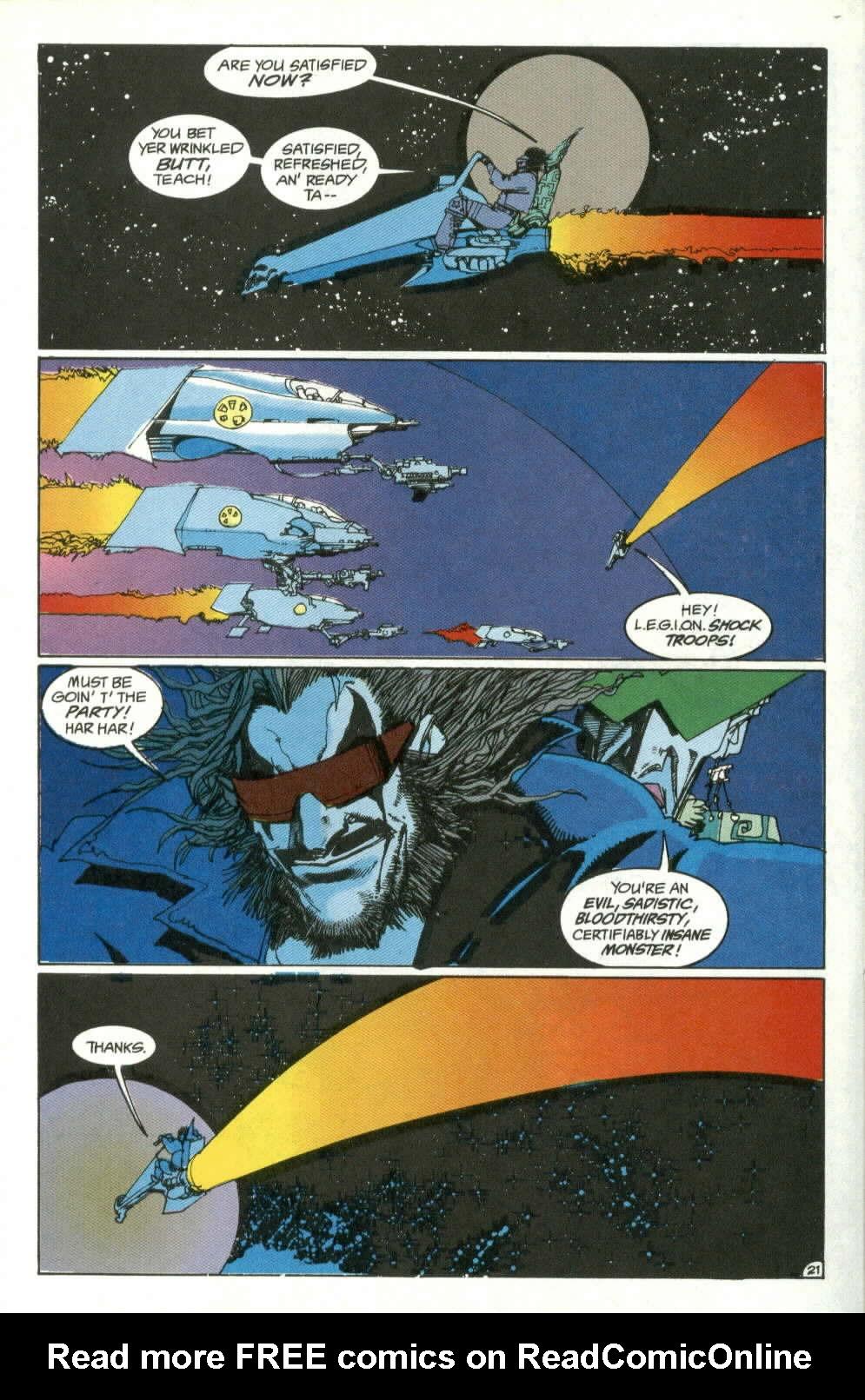 Read online Lobo (1990) comic -  Issue #4 - 21