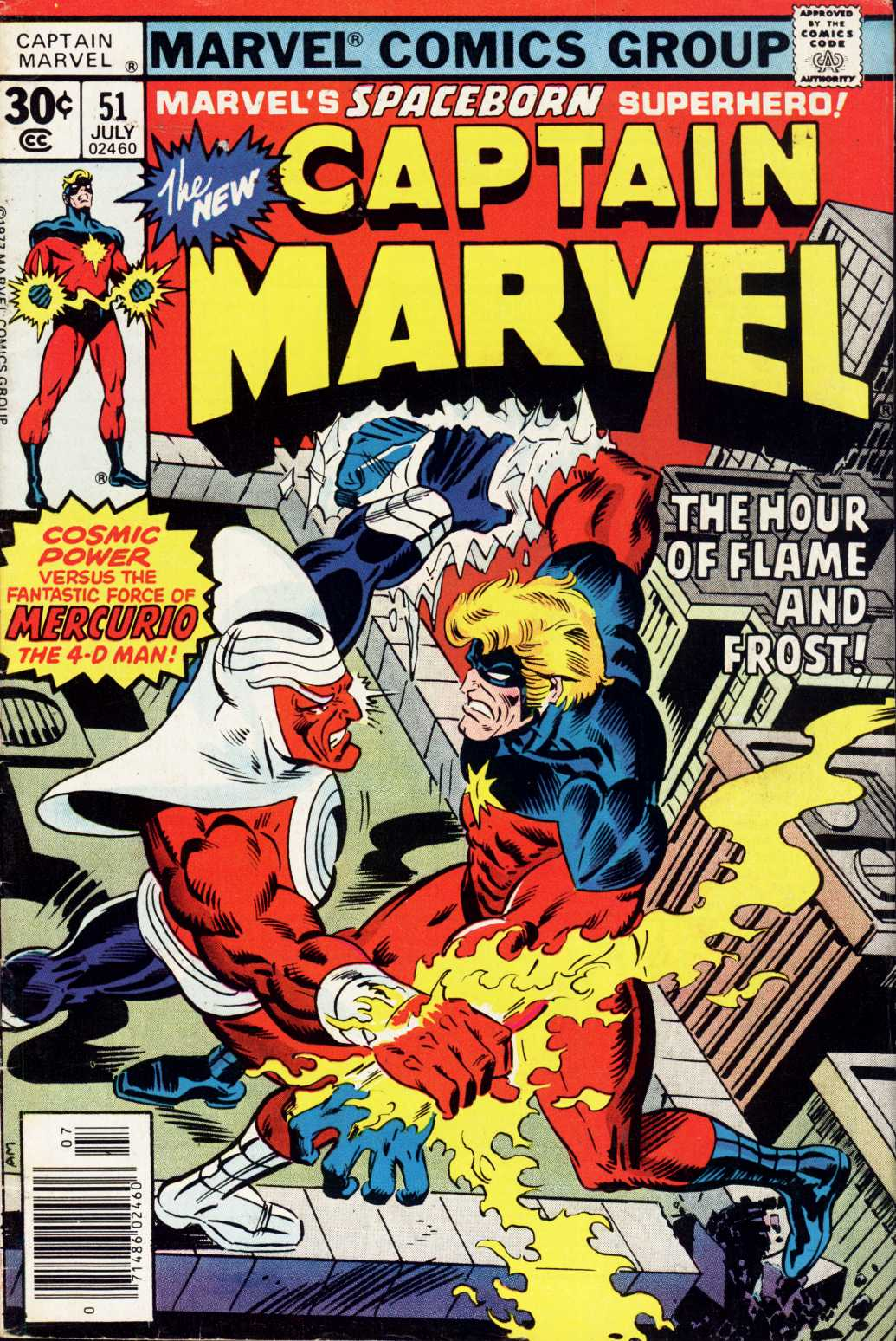Captain Marvel (1968) issue 51 - Page 1