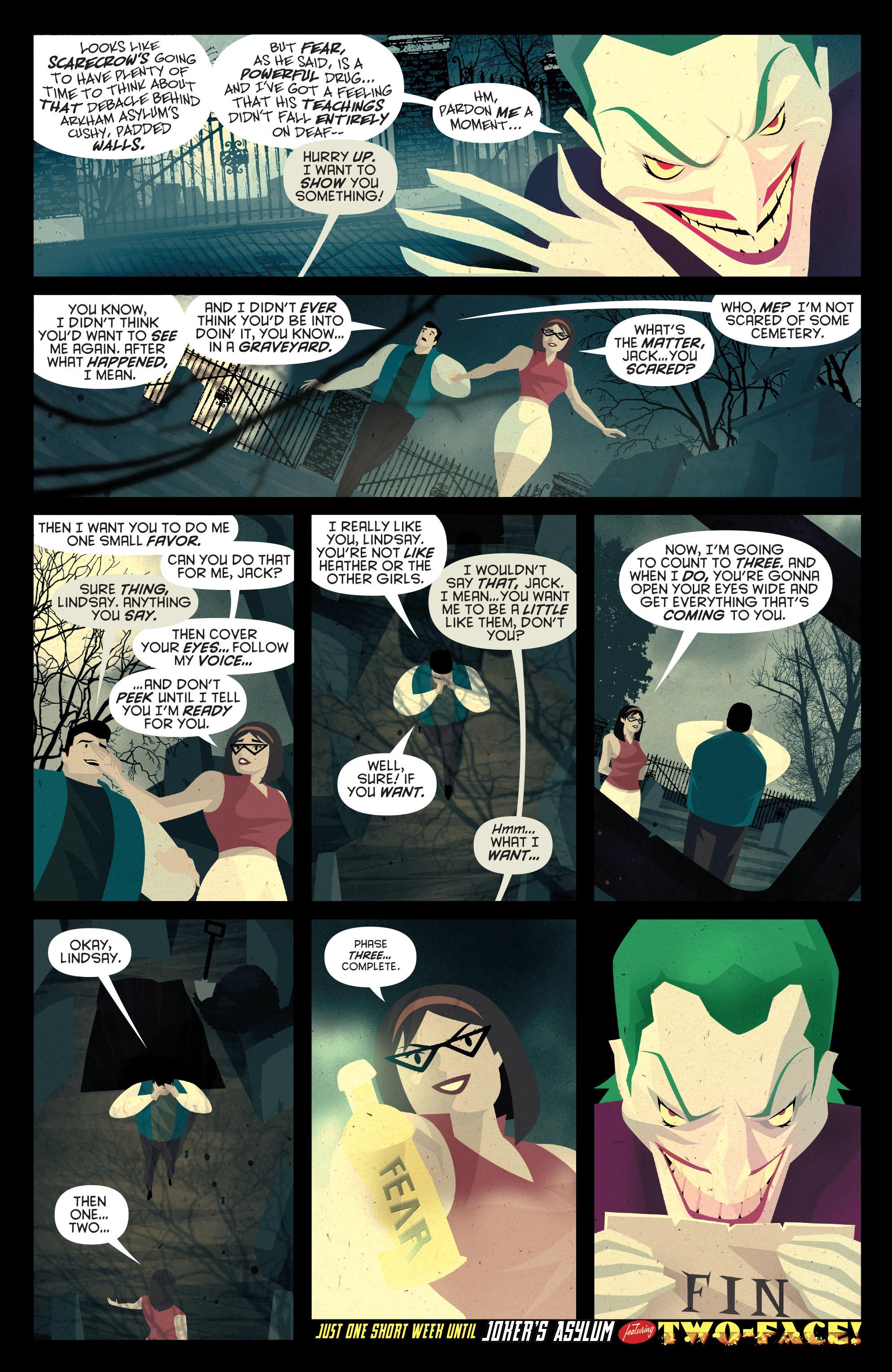 Read online Joker's Asylum: Scarecrow comic -  Issue # Full - 23
