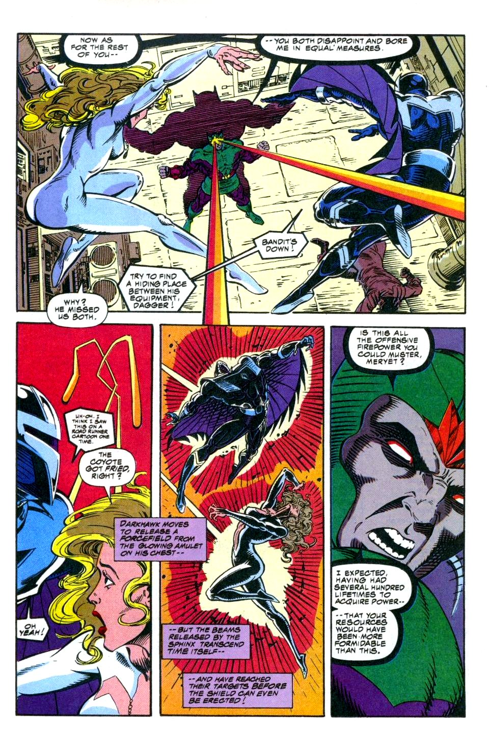 The New Warriors Issue #49 #53 - English 21