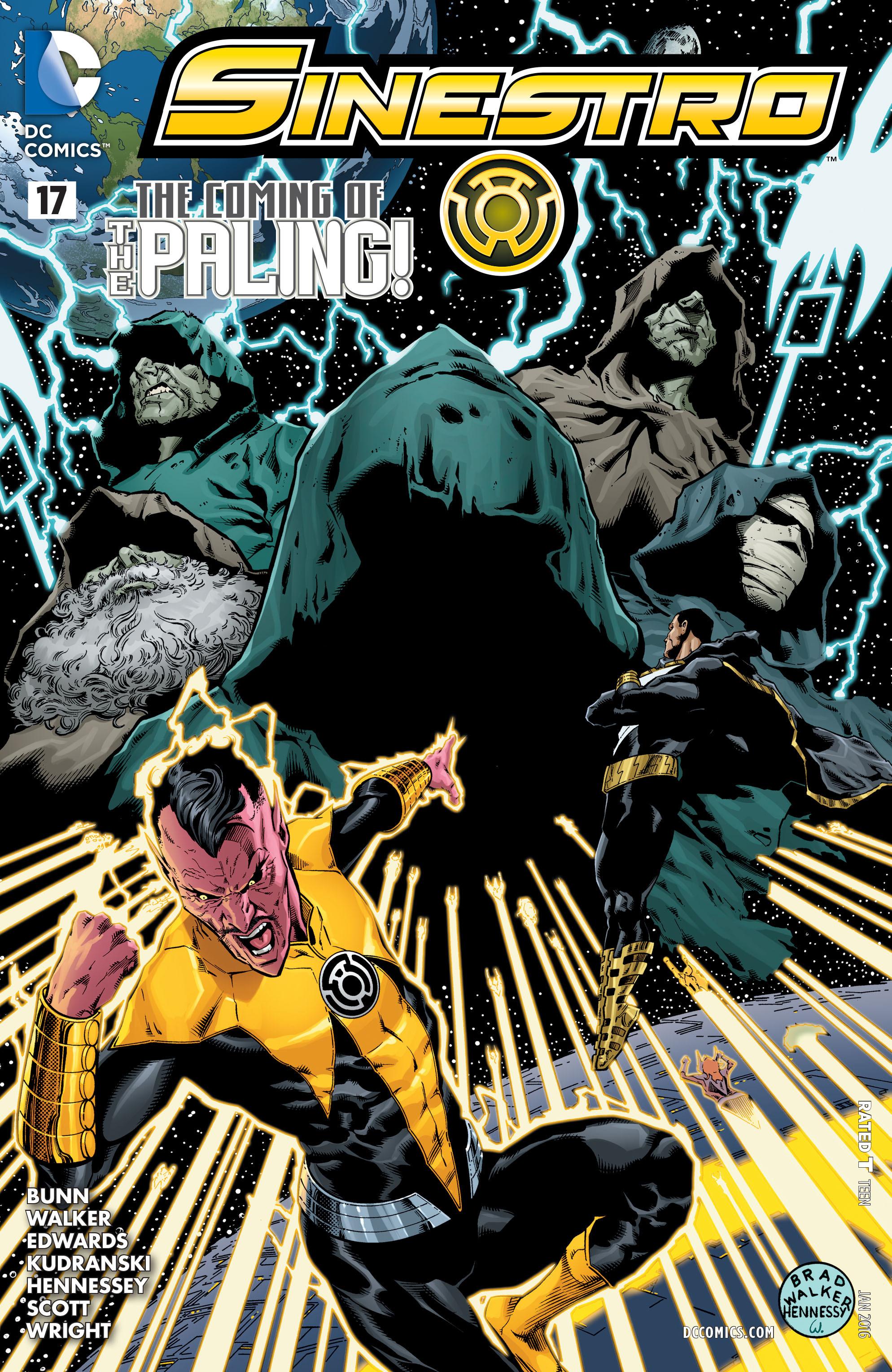 Read online Sinestro comic -  Issue #17 - 1