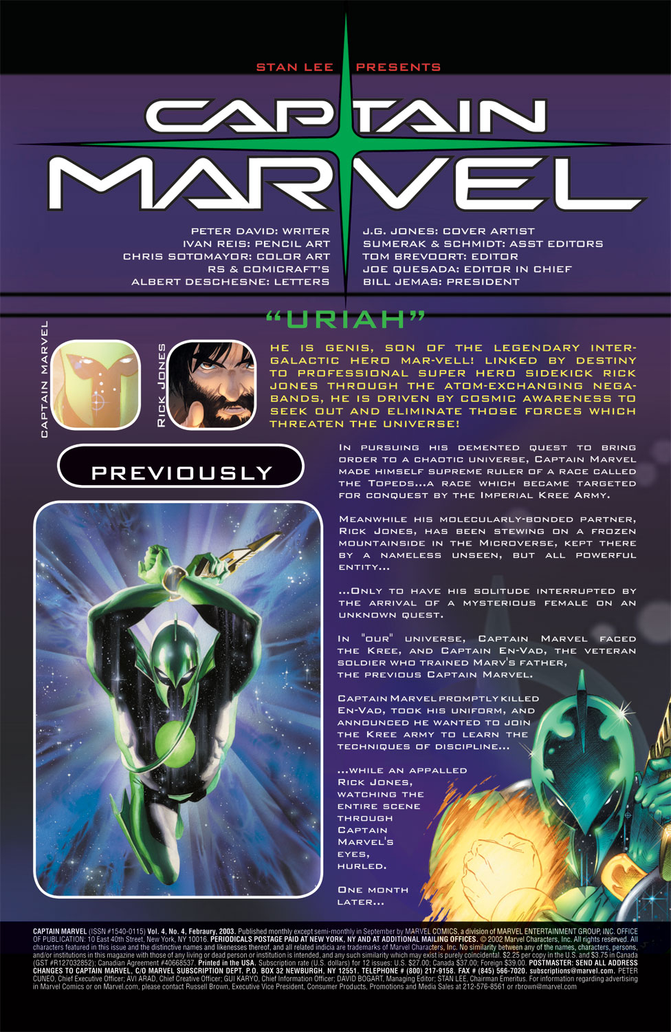 Captain Marvel (2002) Issue #4 #4 - English 2