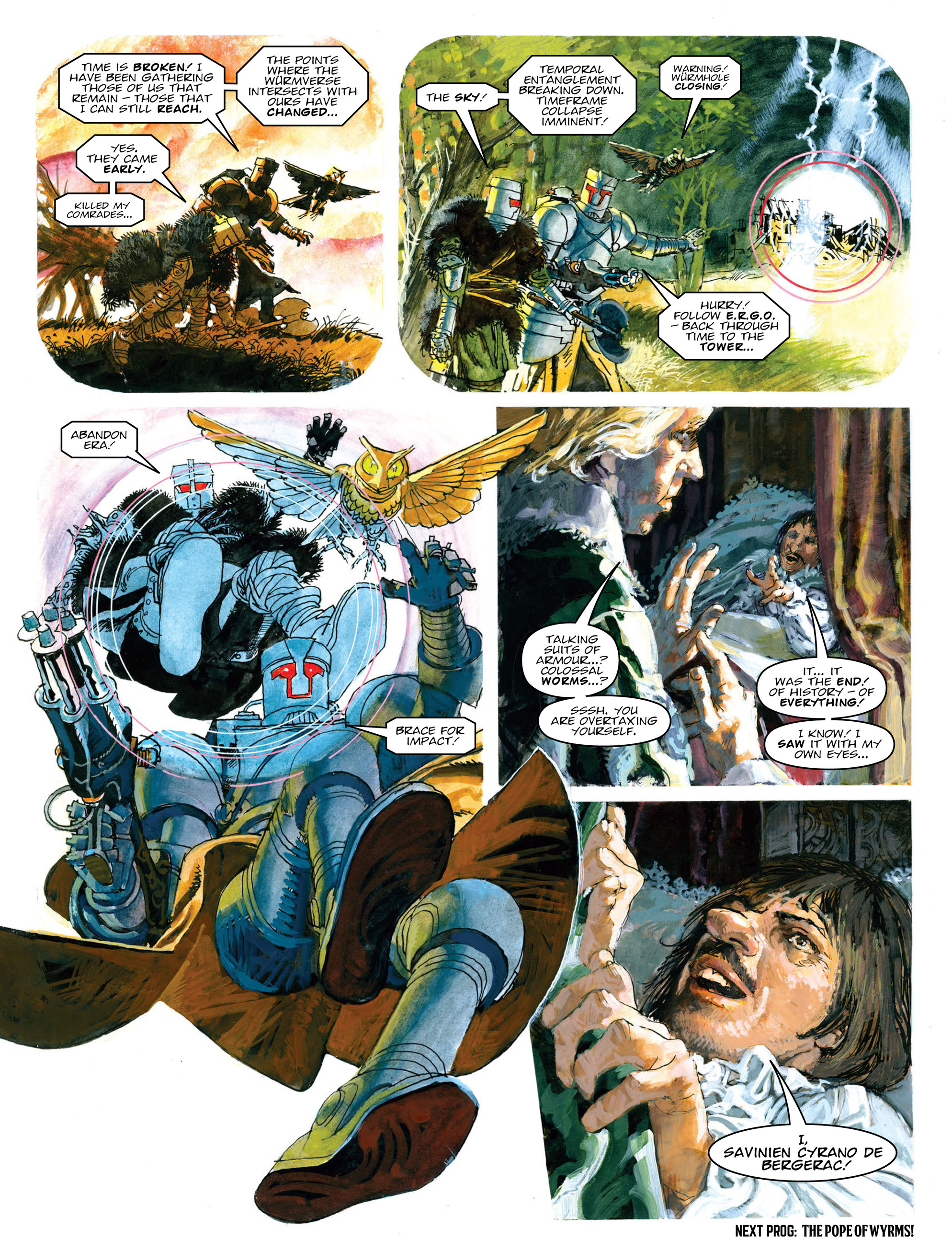 Read online 2000 AD comic -  Issue #2011 - 54