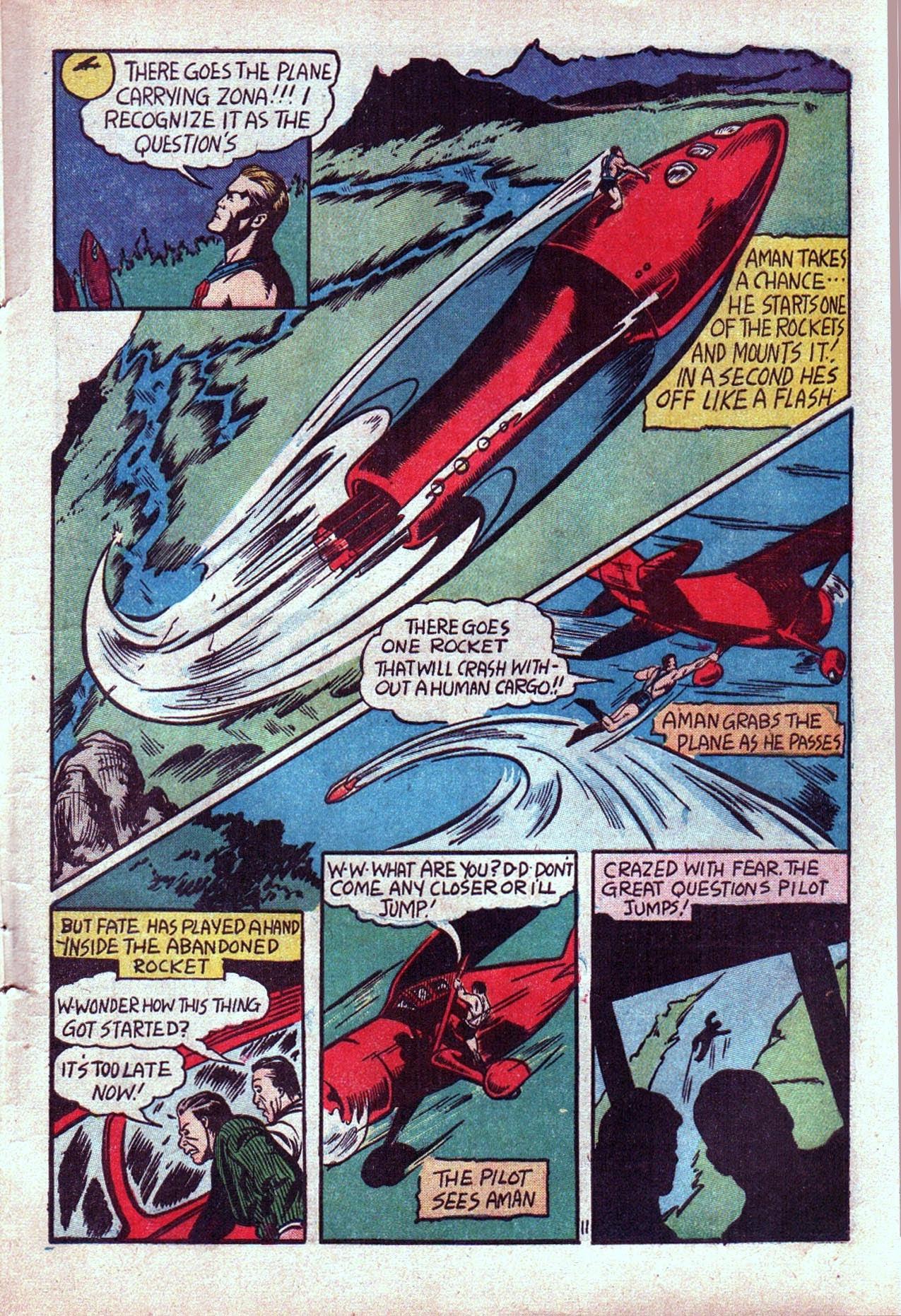 Read online Amazing Man Comics comic -  Issue #20 - 14