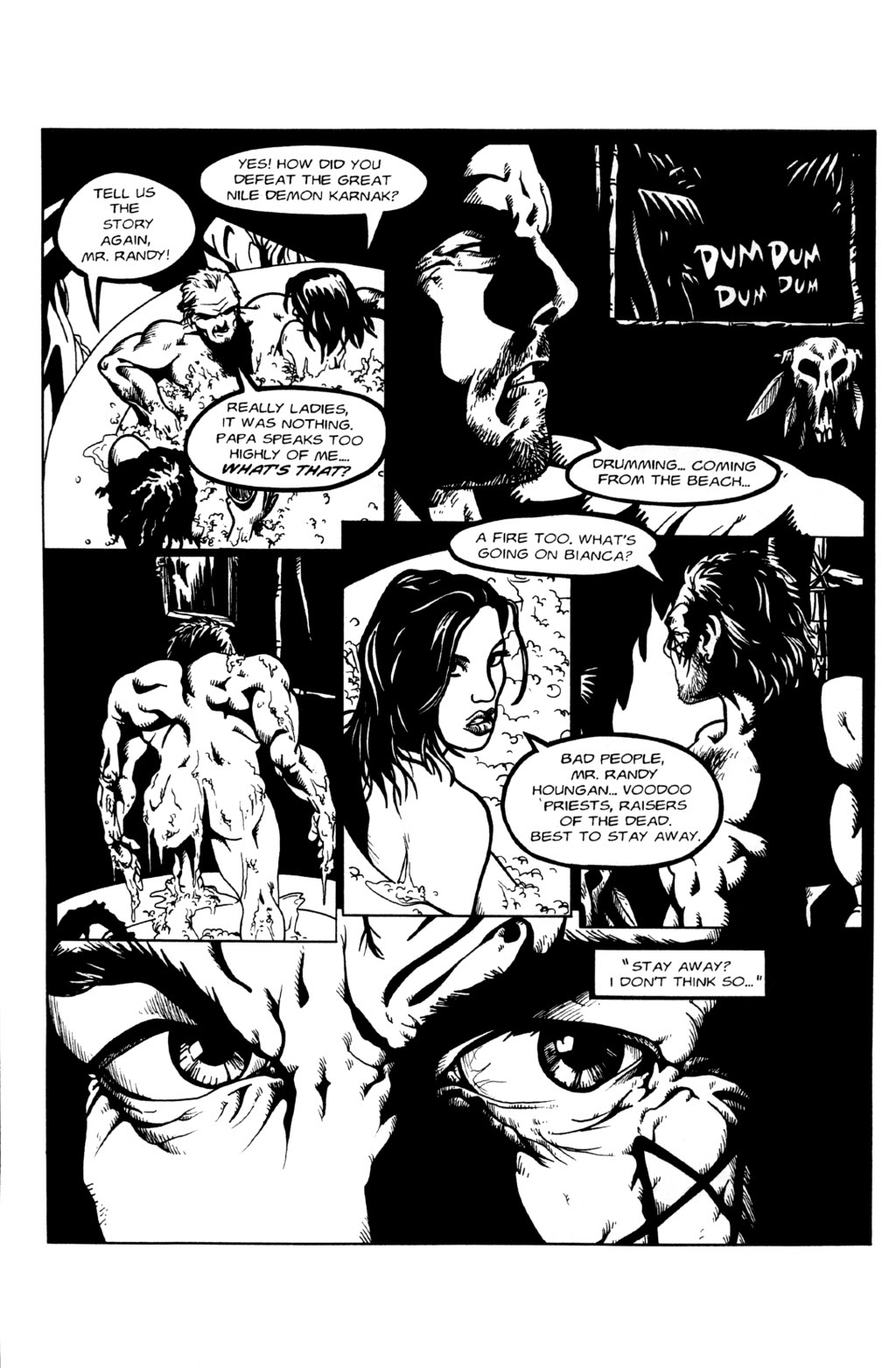 Read online Night of the Living Dead (1994) comic -  Issue #0 - 6