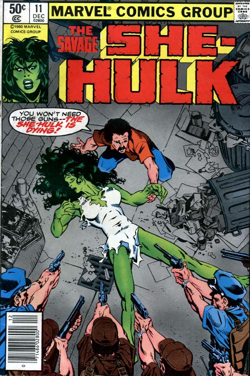 The Savage She-Hulk 11 Page 1