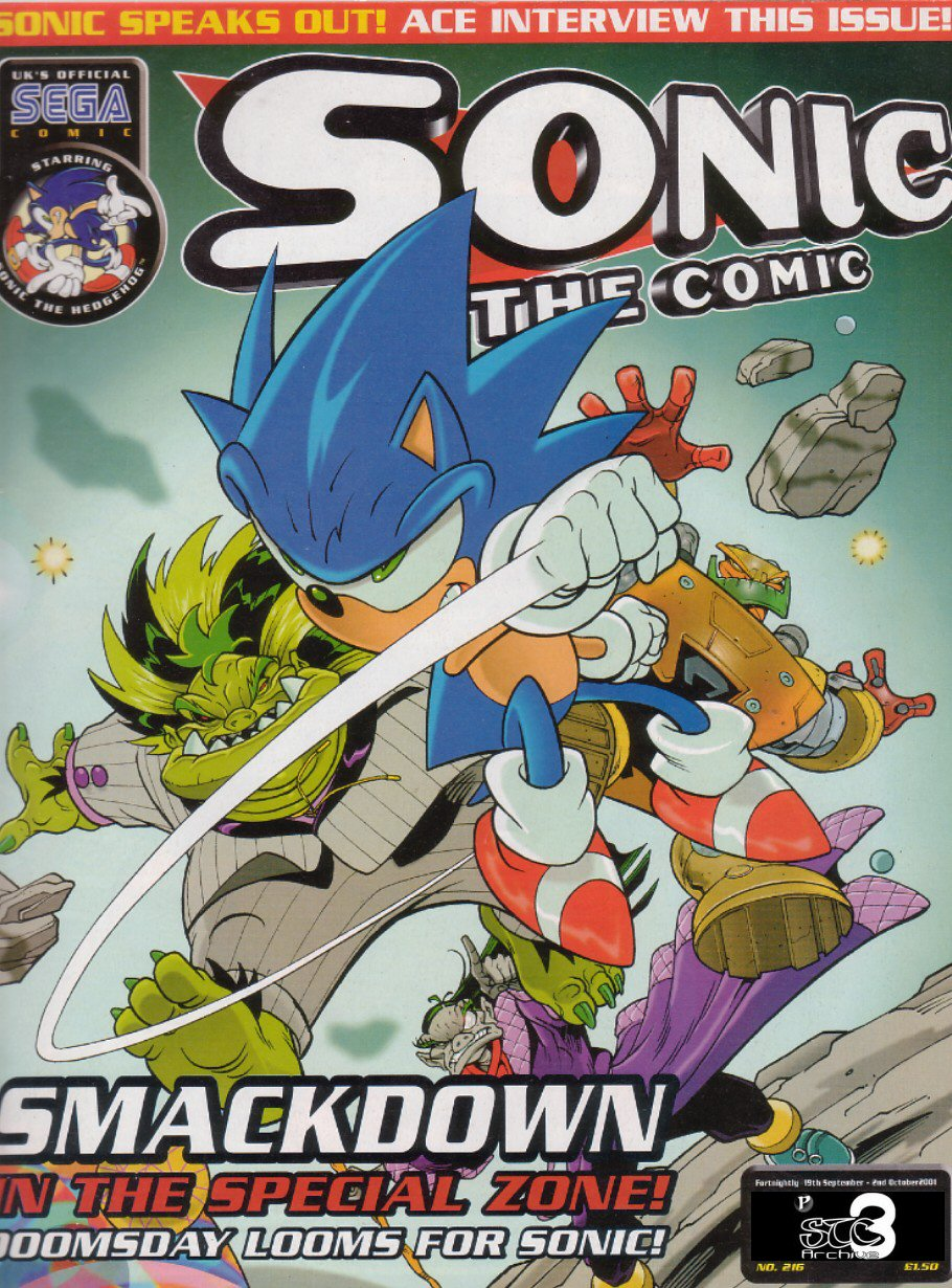 Read online Sonic the Comic comic -  Issue #216 - 1