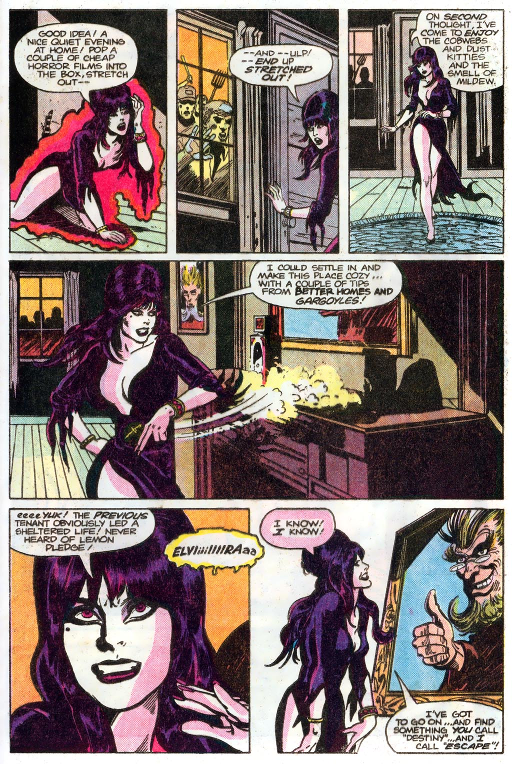 Elvira's House of Mystery Issue #1 #2 - English 17