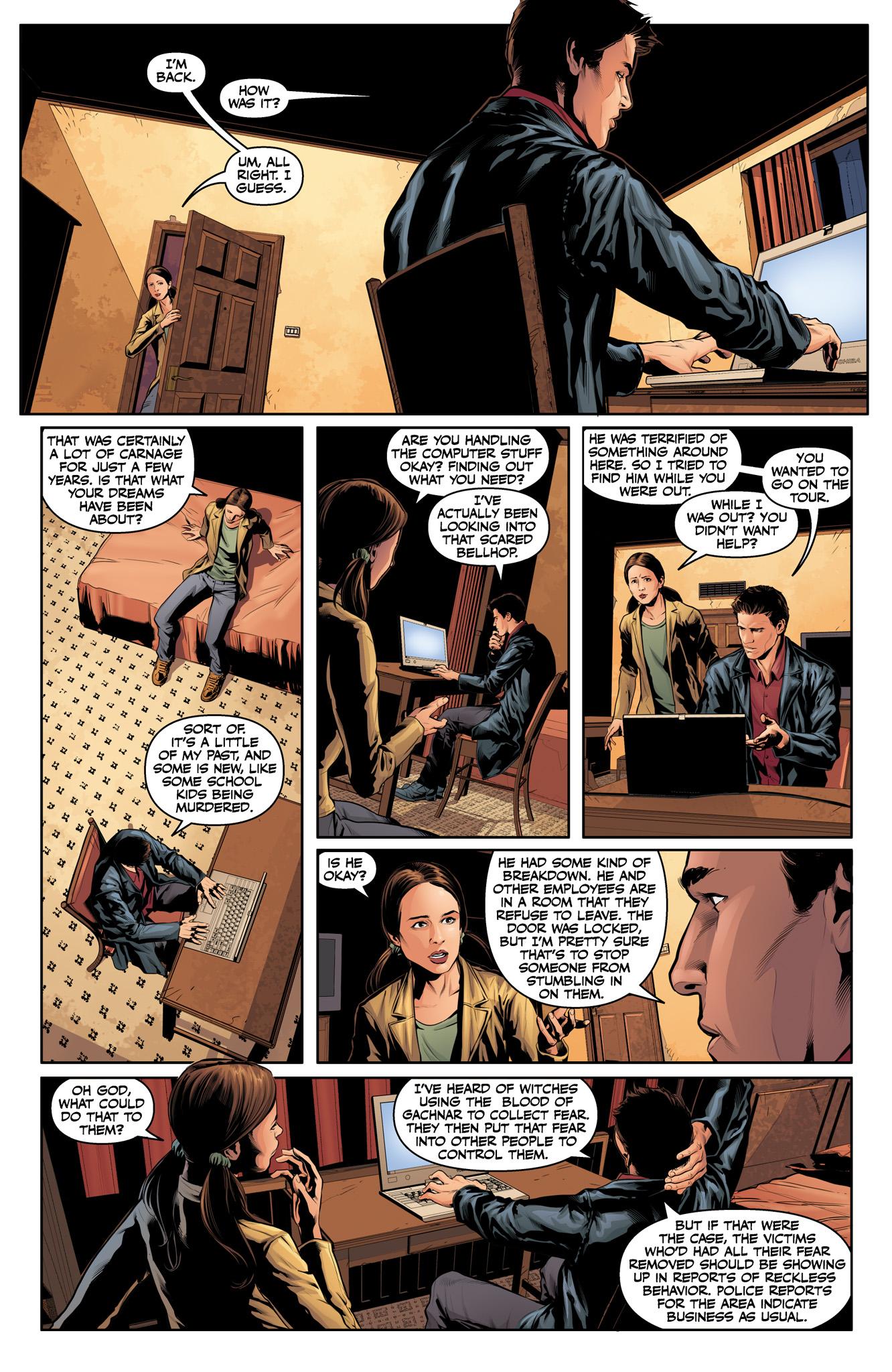 Read online Angel & Faith Season 10 comic -  Issue #15 - 15