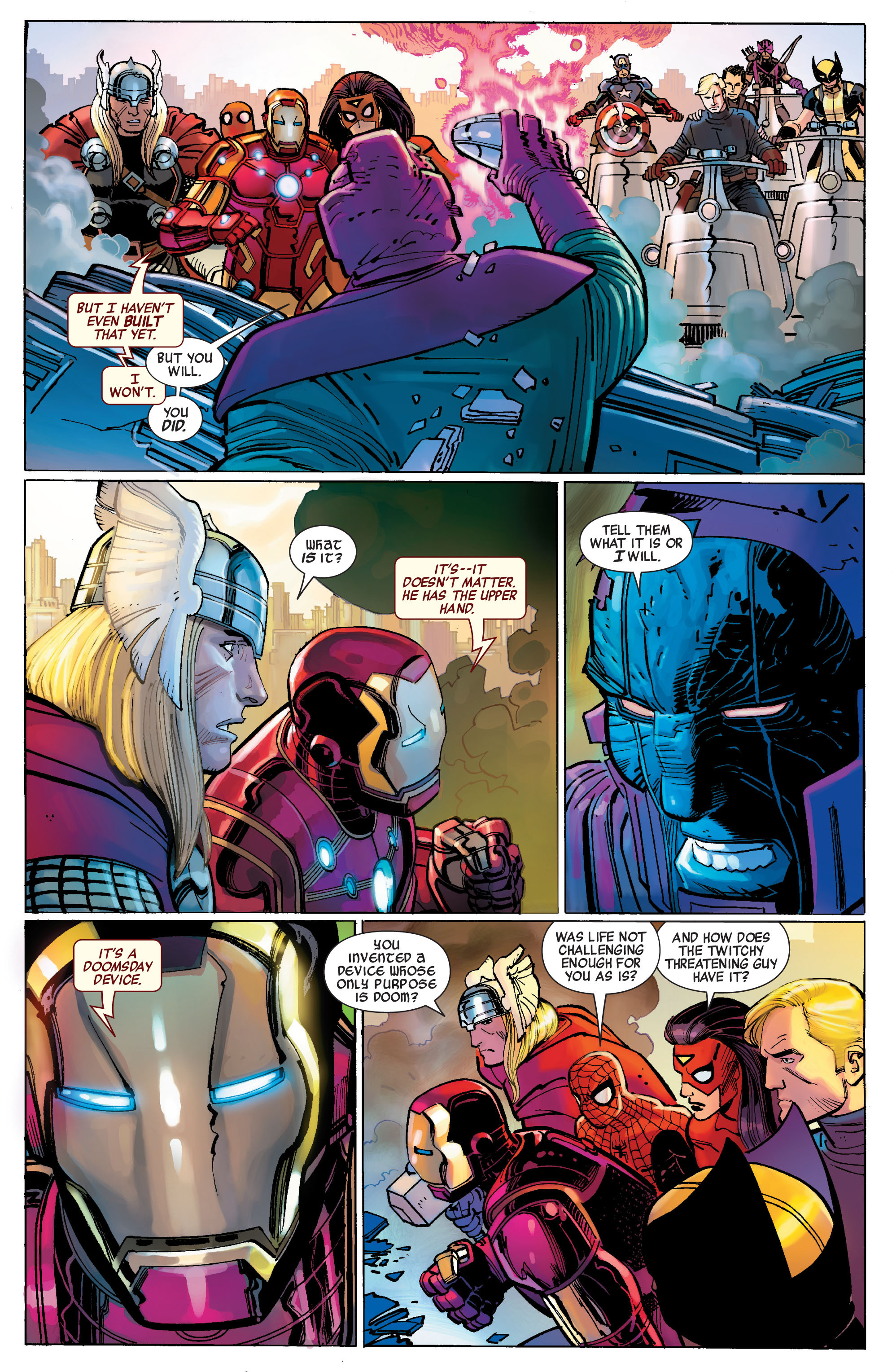 Read online Avengers (2010) comic -  Issue #1 - 14
