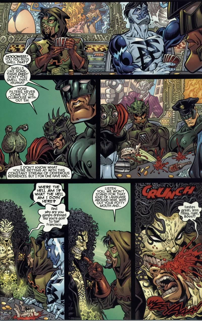 Read online Evil Ernie vs. the Superheroes comic -  Issue #2 - 7