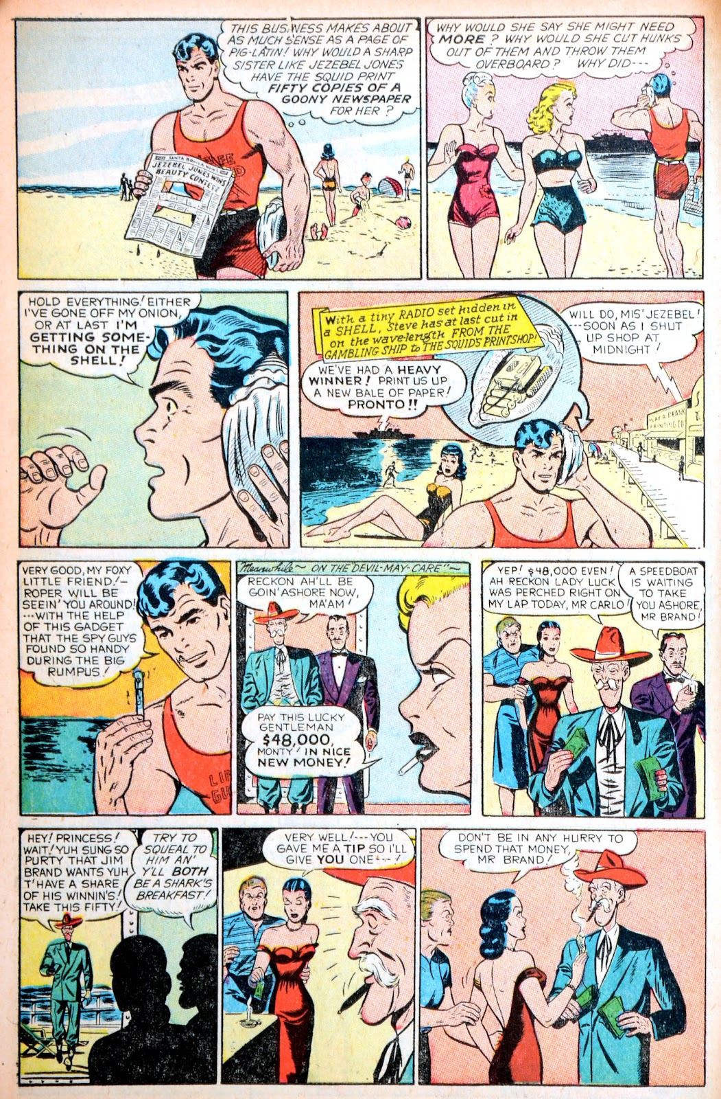 Read online Famous Funnies comic -  Issue #195 - 10