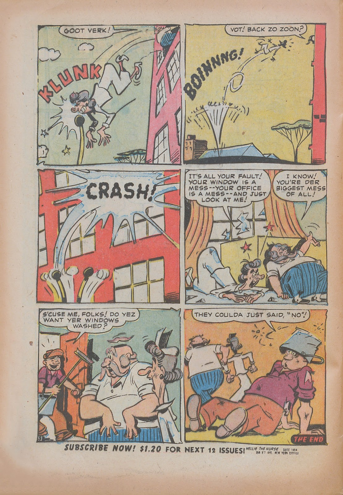 Read online Nellie The Nurse (1945) comic -  Issue #31 - 24