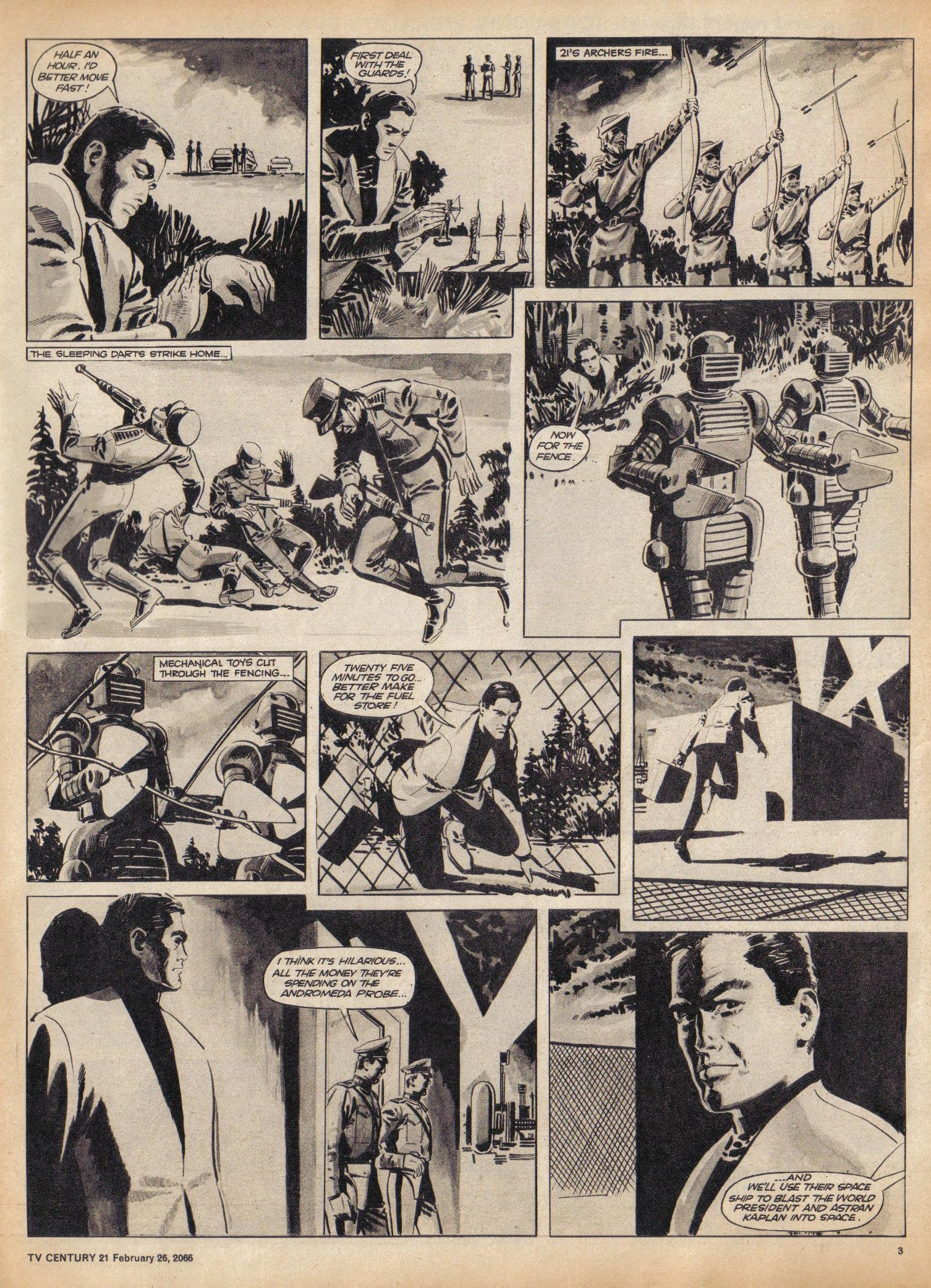 Read online TV Century 21 (TV 21) comic -  Issue #58 - 3