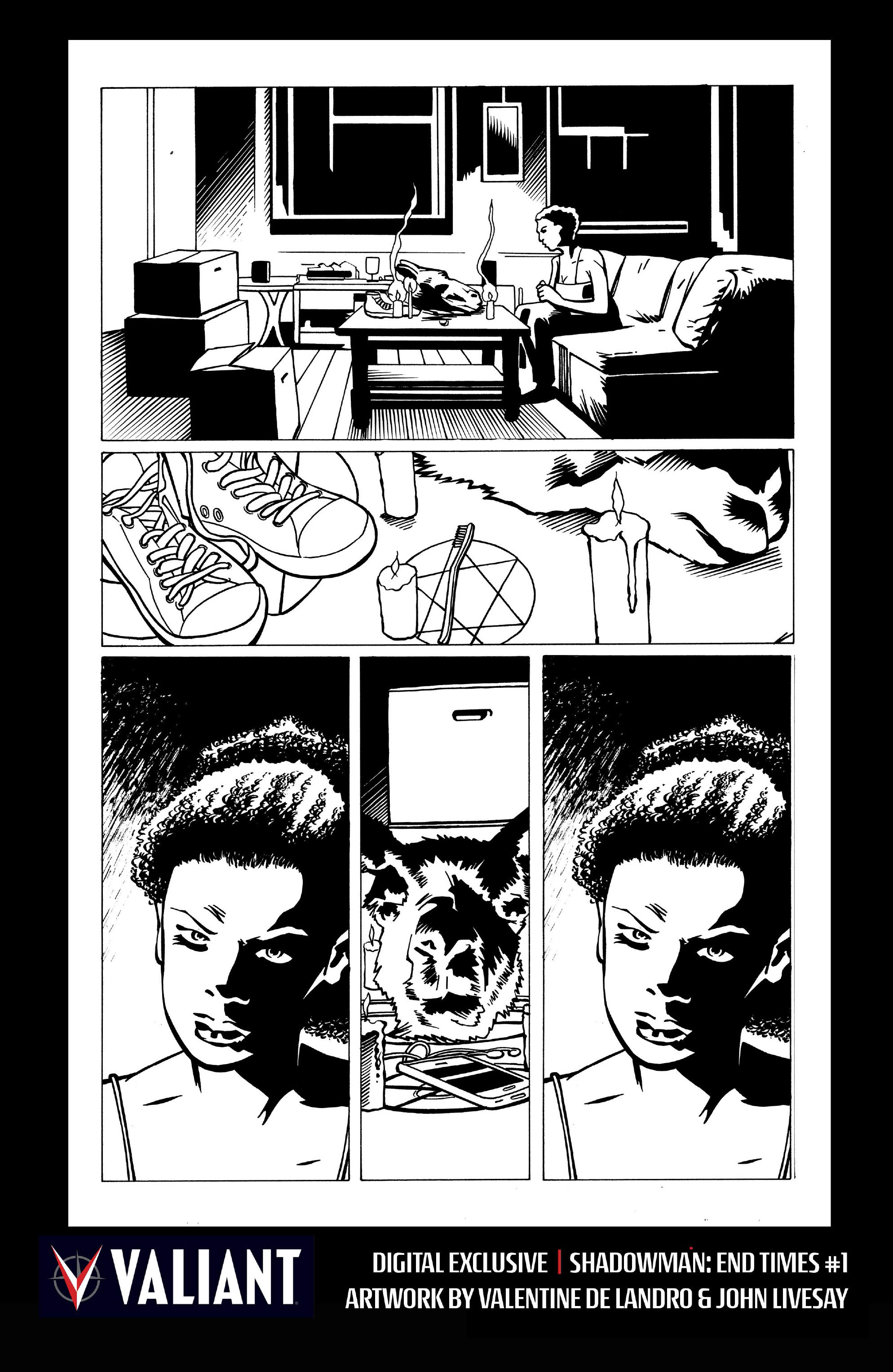 Read online Shadowman: End Times comic -  Issue #1 - 29