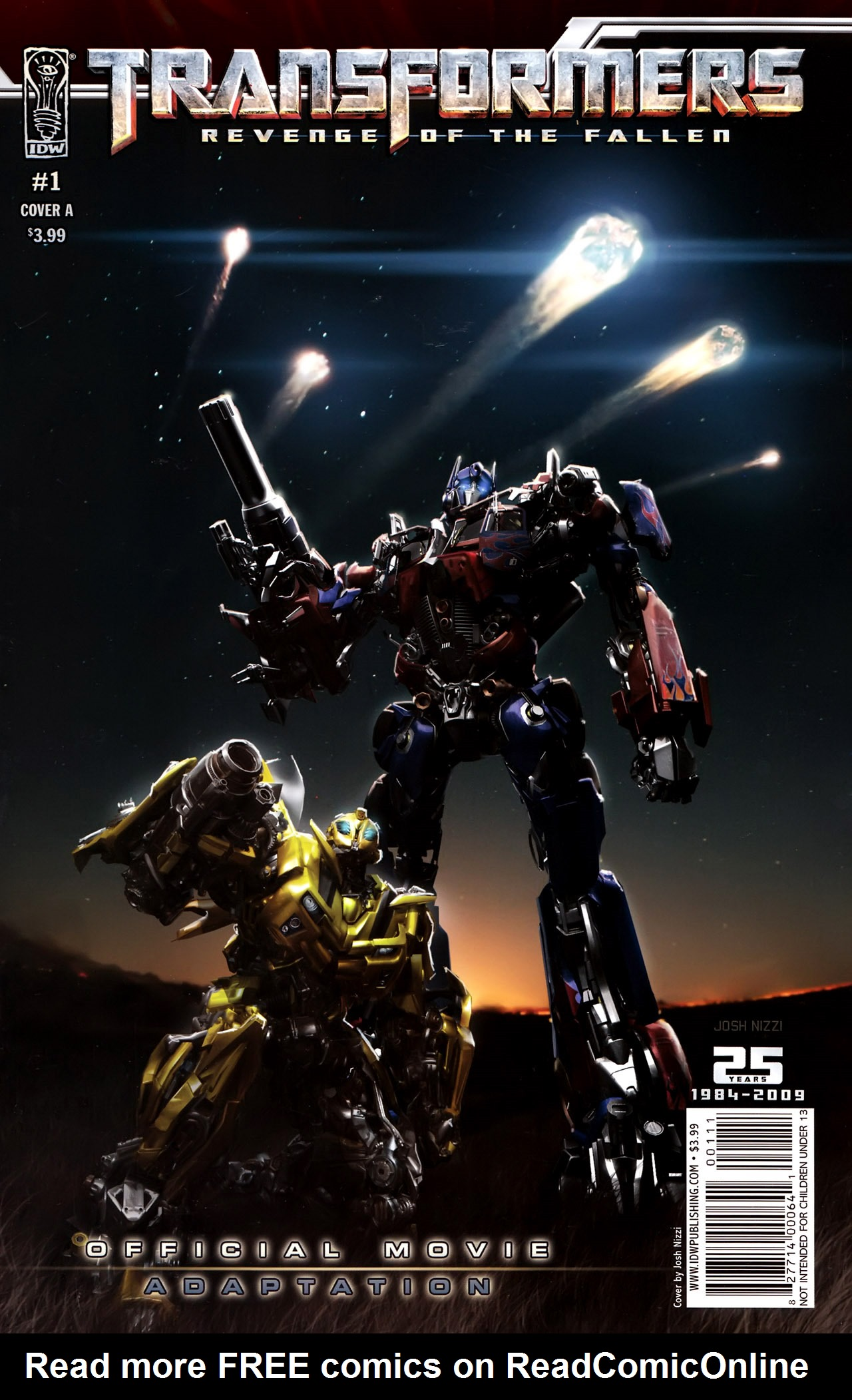 Transformers: Revenge of the Fallen — Official Movie Adaptation 1 Page 1