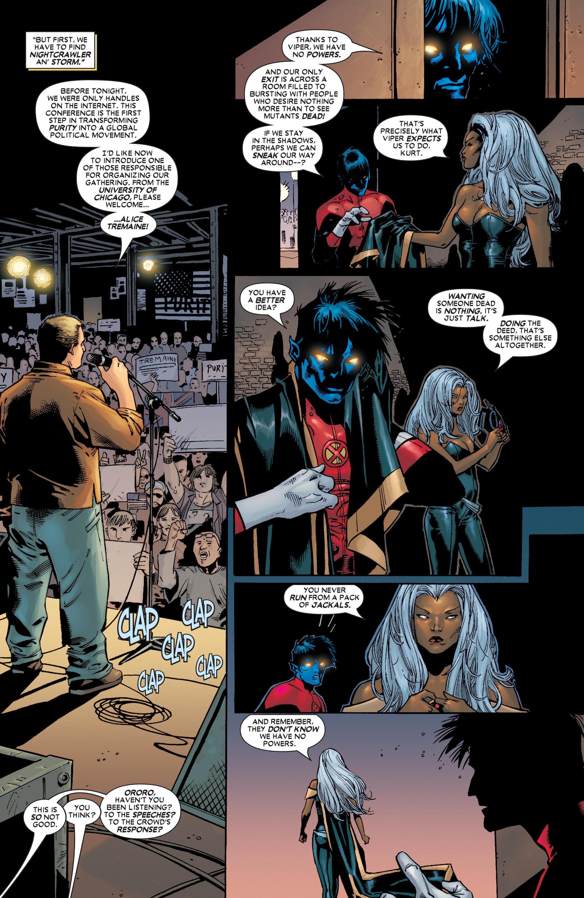 Read online Uncanny X-Men (1963) comic -  Issue #449 - 10