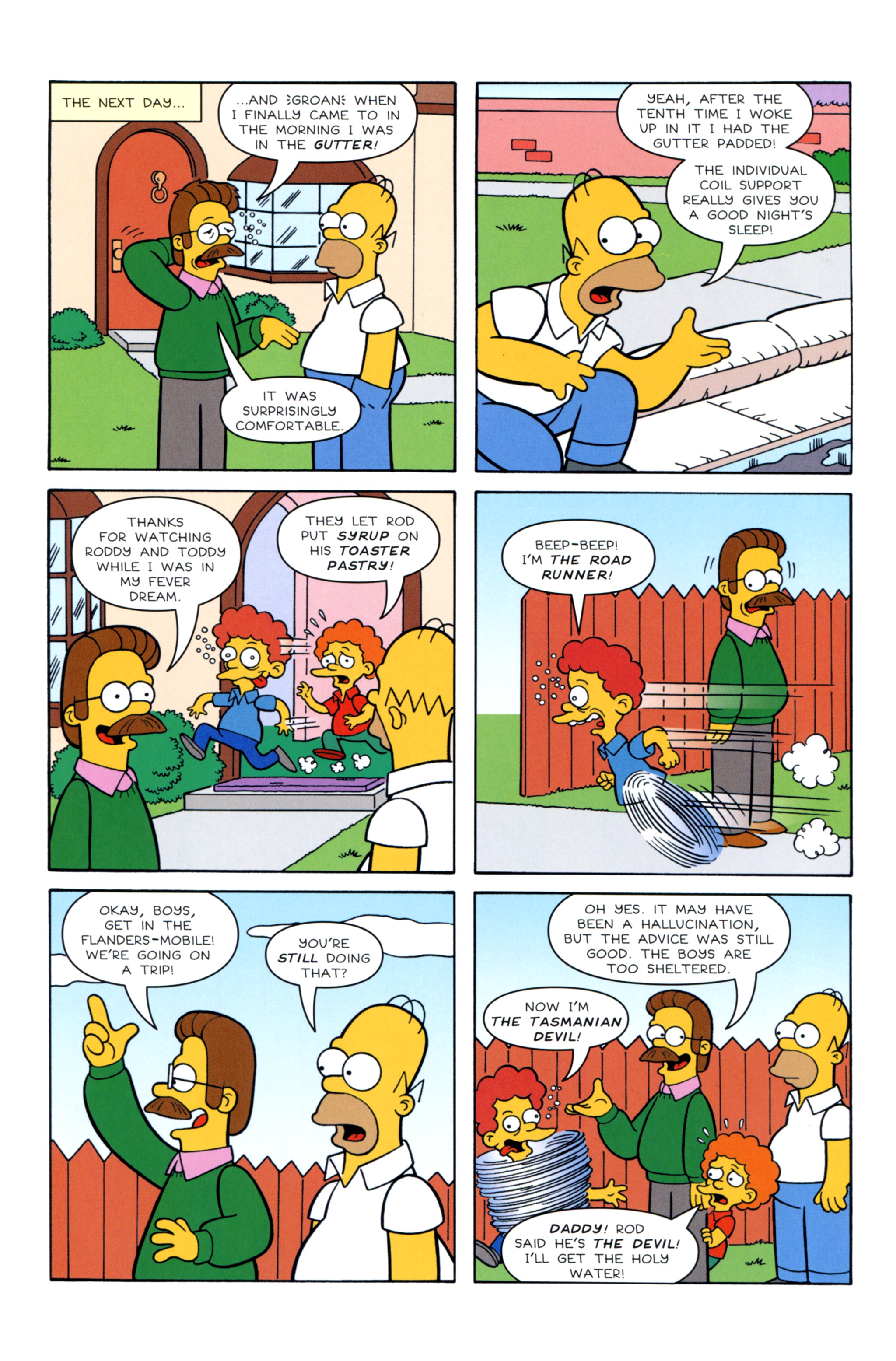 Read online Simpsons Illustrated (2012) comic -  Issue #12 - 8