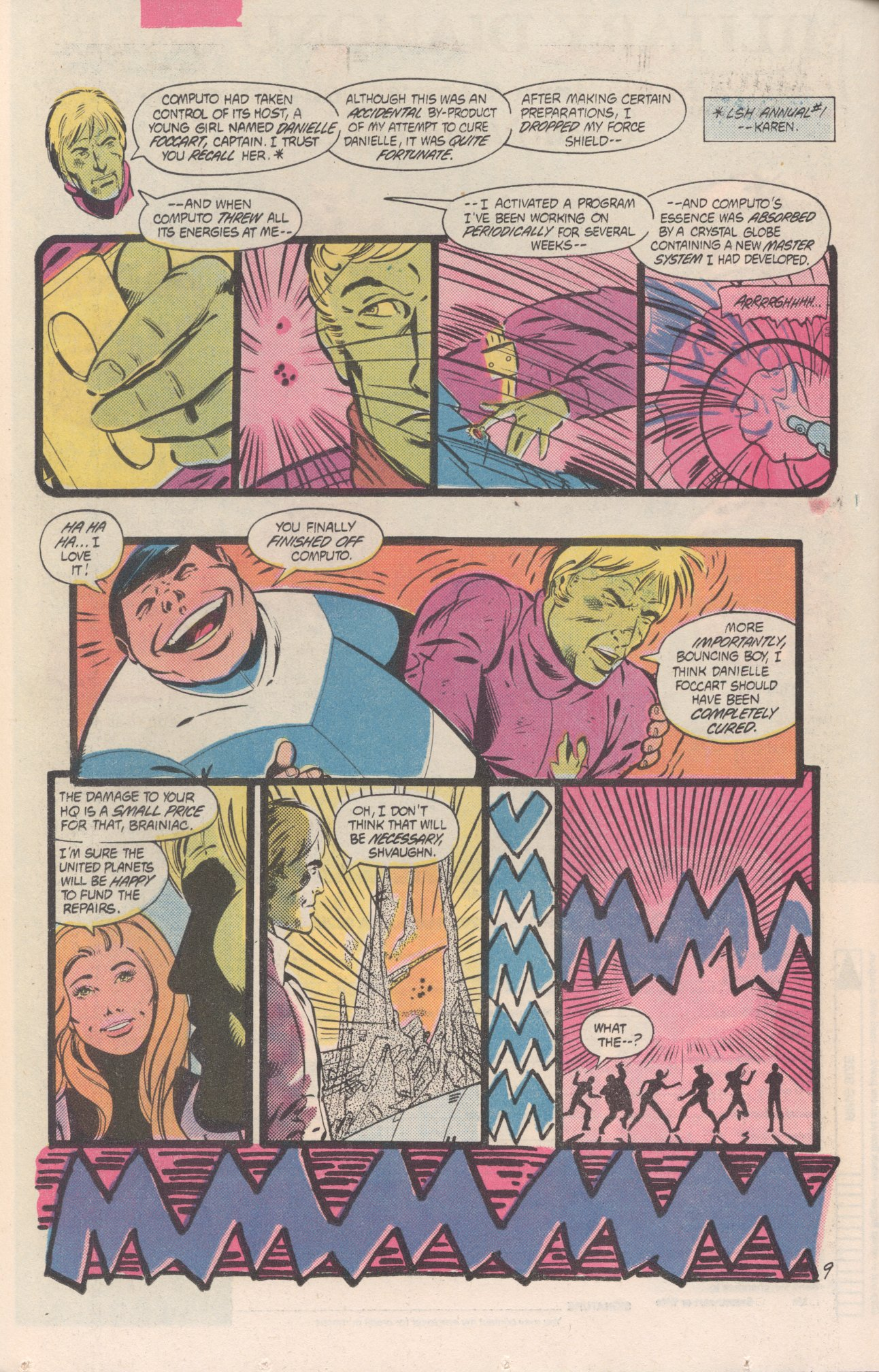 Legion of Super-Heroes (1980) 311 Page 9