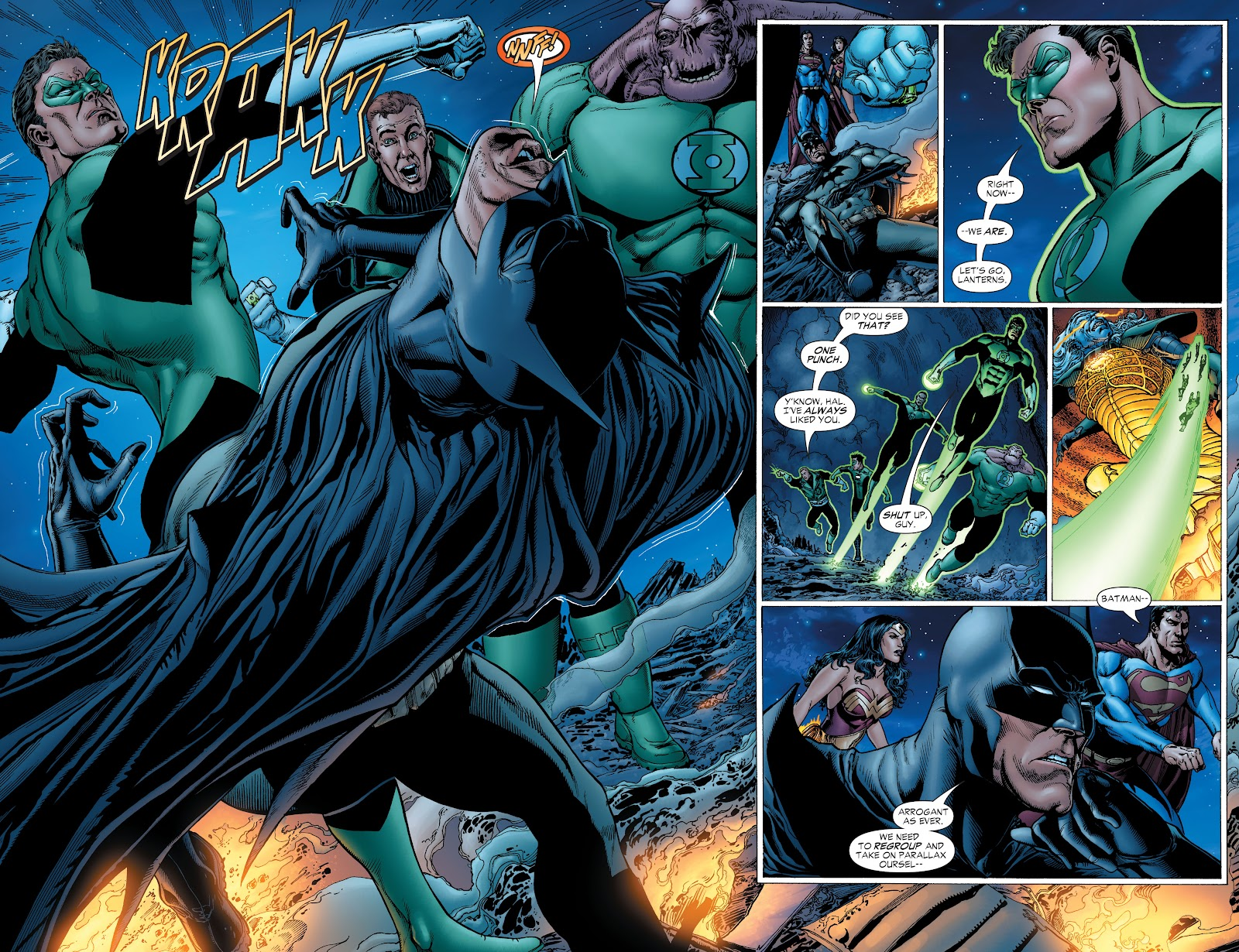 Read online Green Lantern by Geoff Johns comic -  Issue # TPB 1 (Part 2) - 36