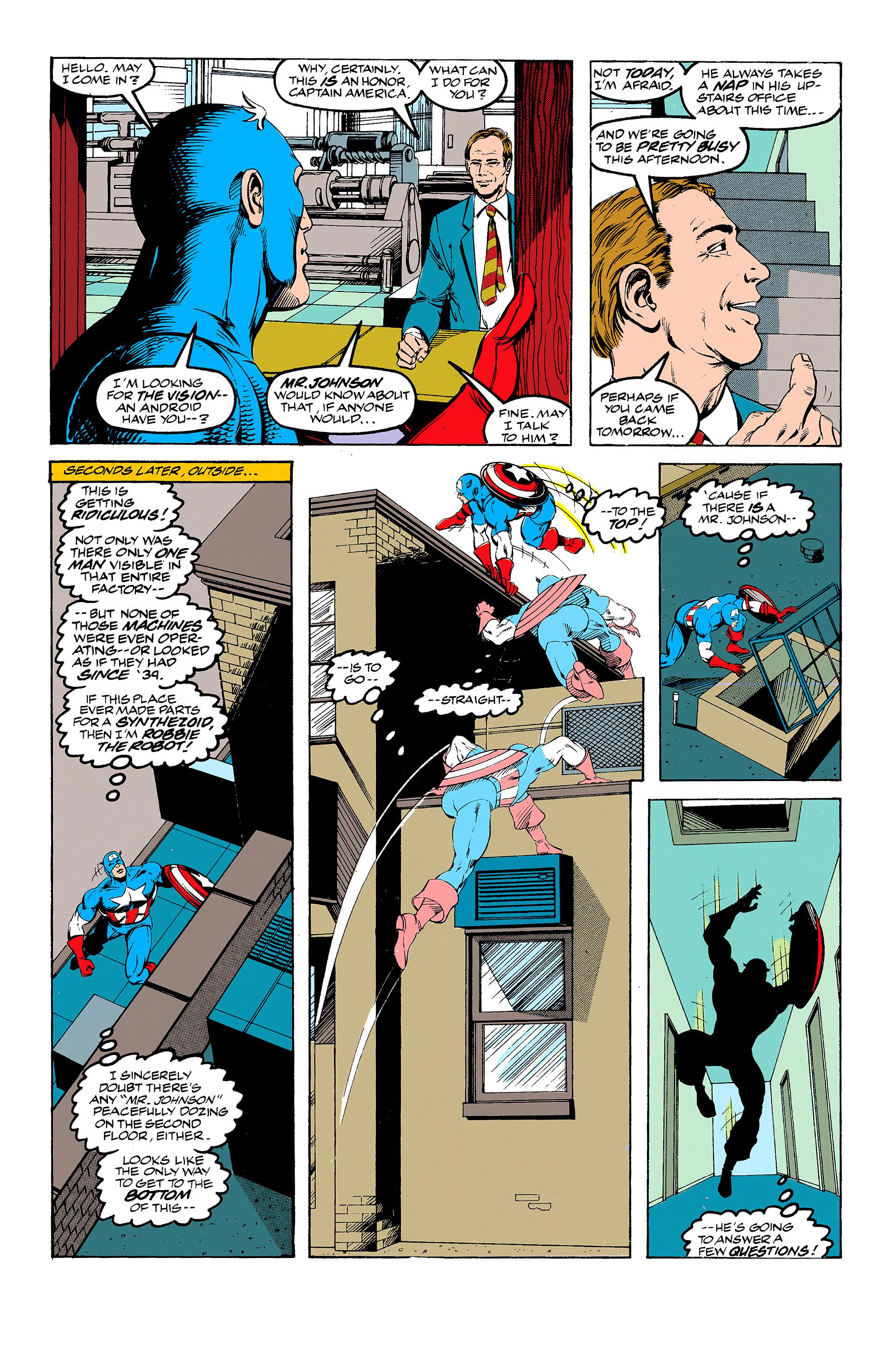 Read online Captain America (1968) comic -  Issue # _Annual 11 - 8
