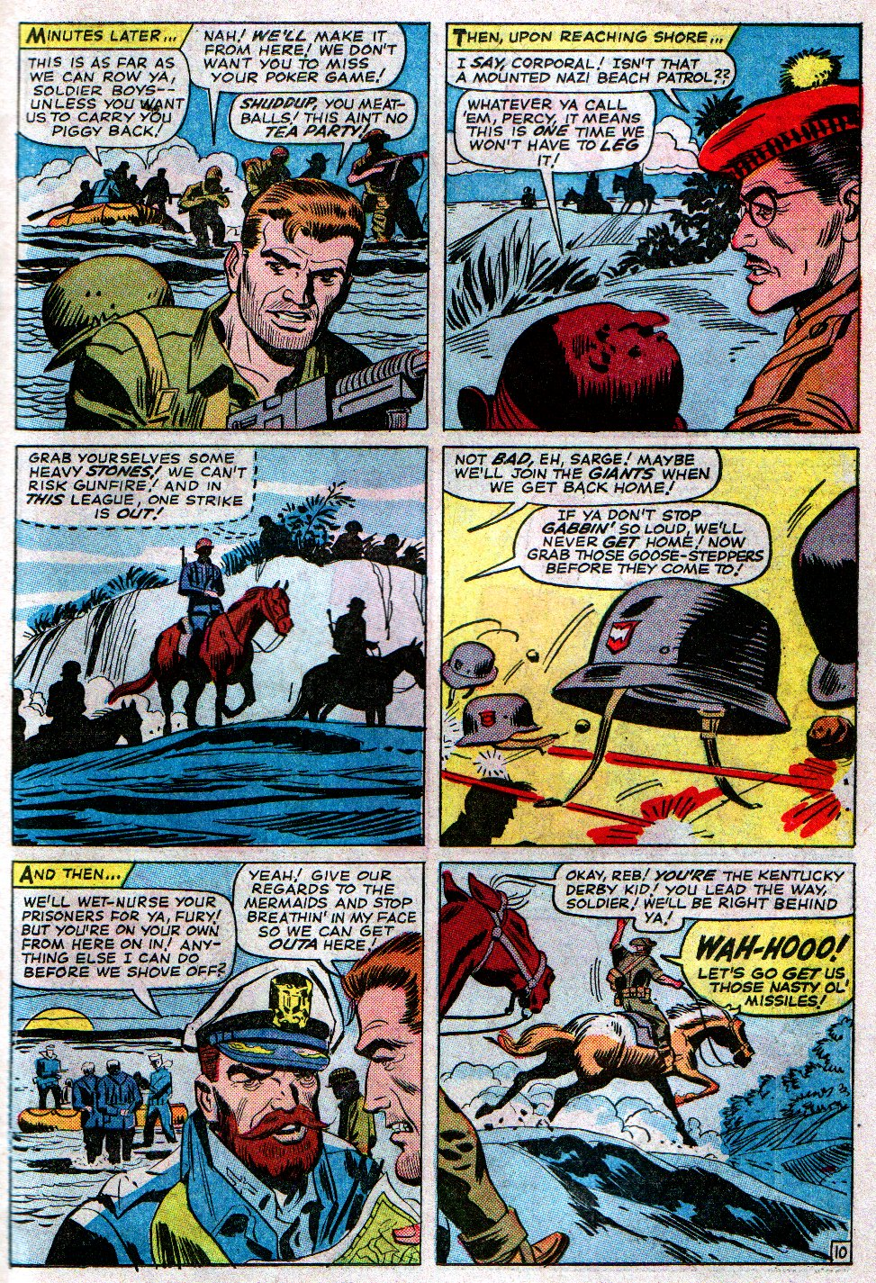 Read online Sgt. Fury comic -  Issue #14 - 15