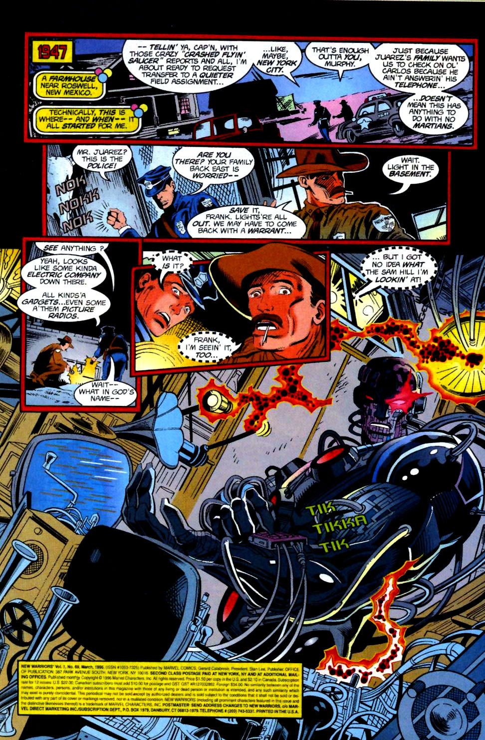 The New Warriors Issue #69 #73 - English 2