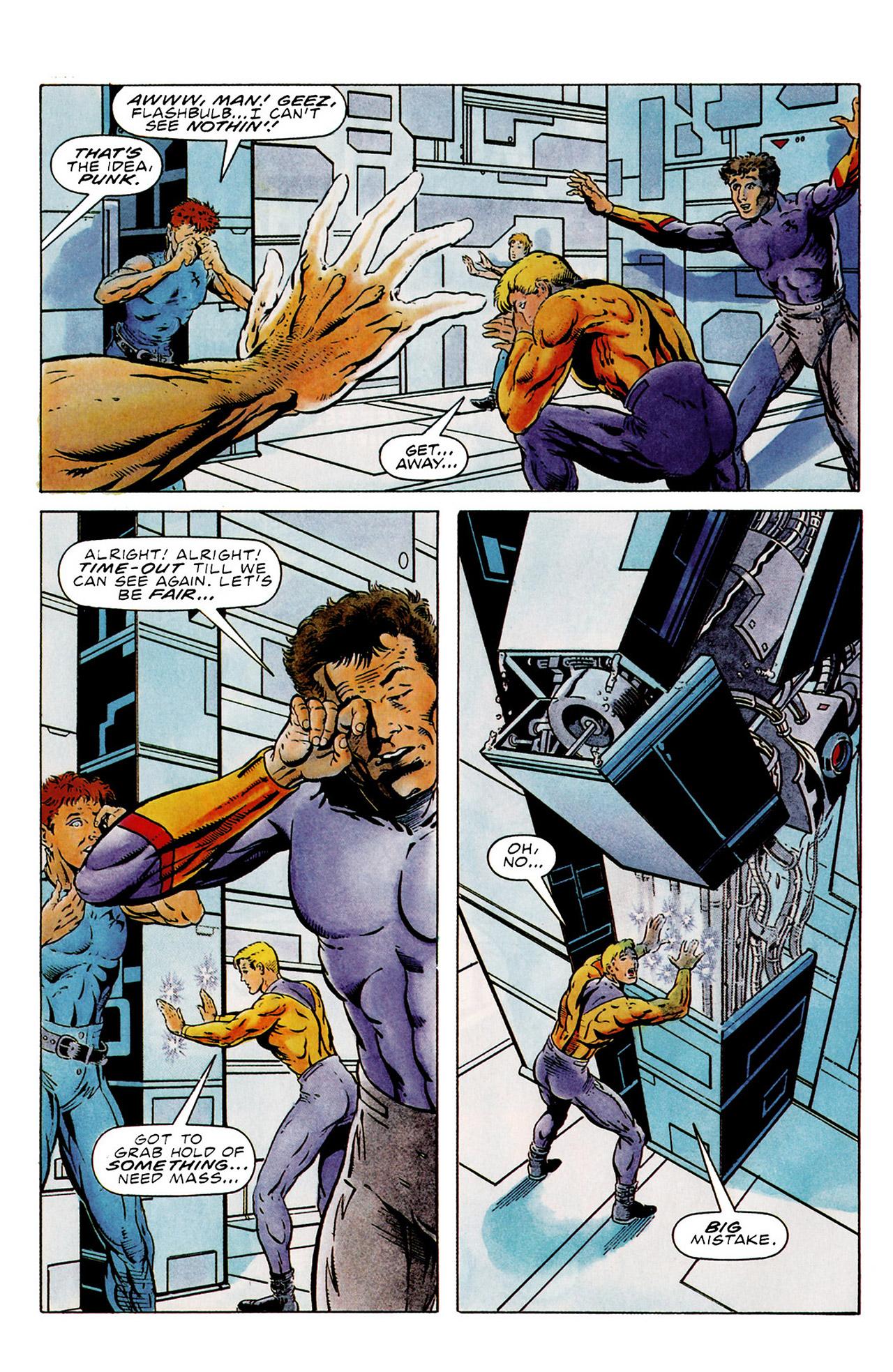 Read online Harbinger (1992) comic -  Issue #15 - 7