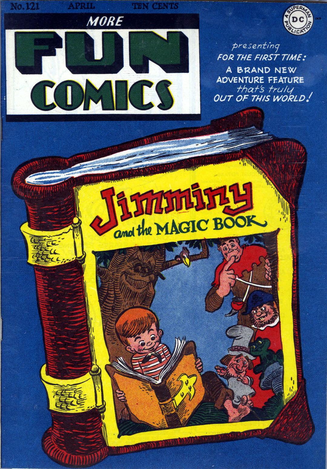 More Fun Comics 121 Page 1