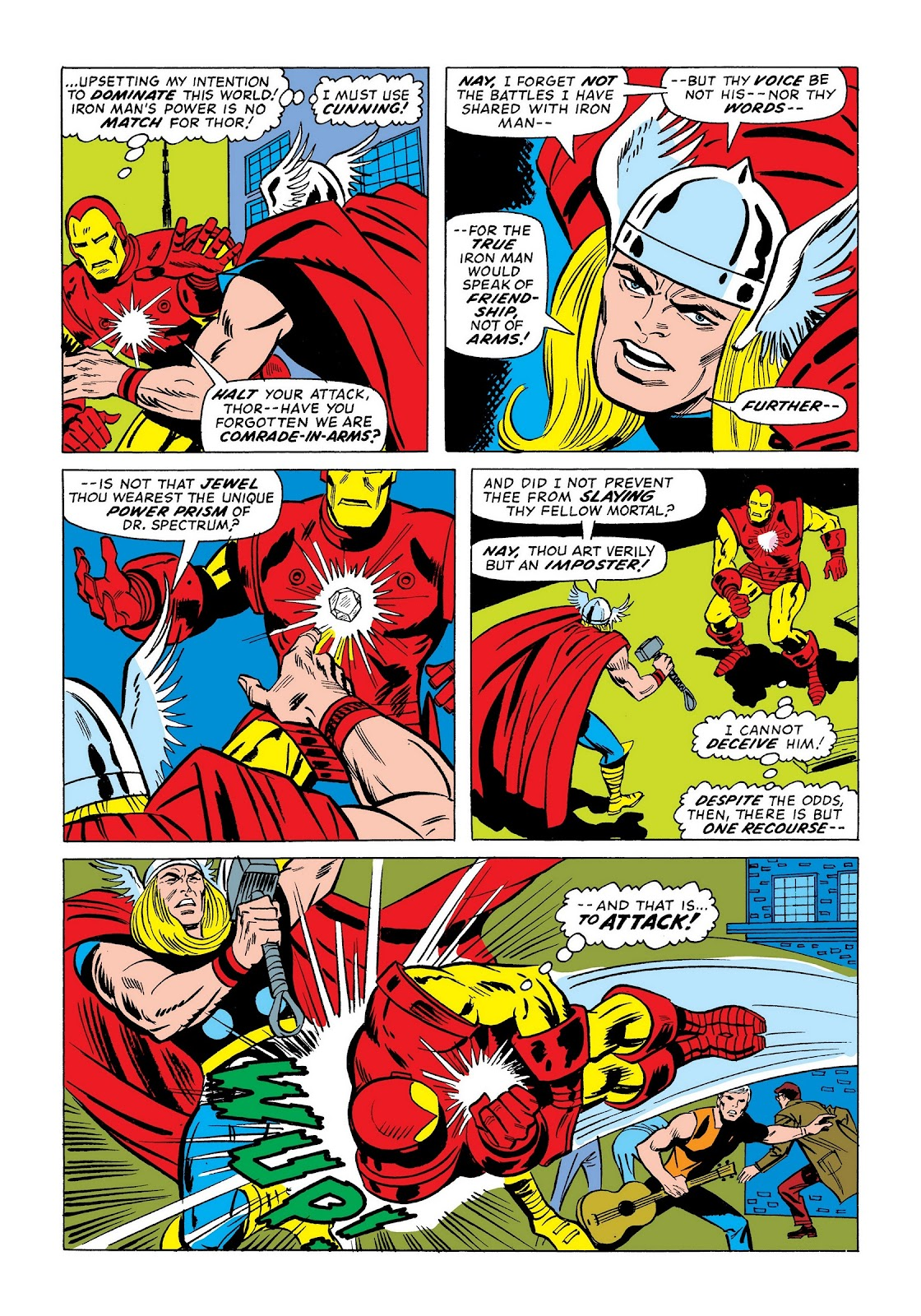 Read online Marvel Masterworks: The Invincible Iron Man comic -  Issue # TPB 9 (Part 3) - 56