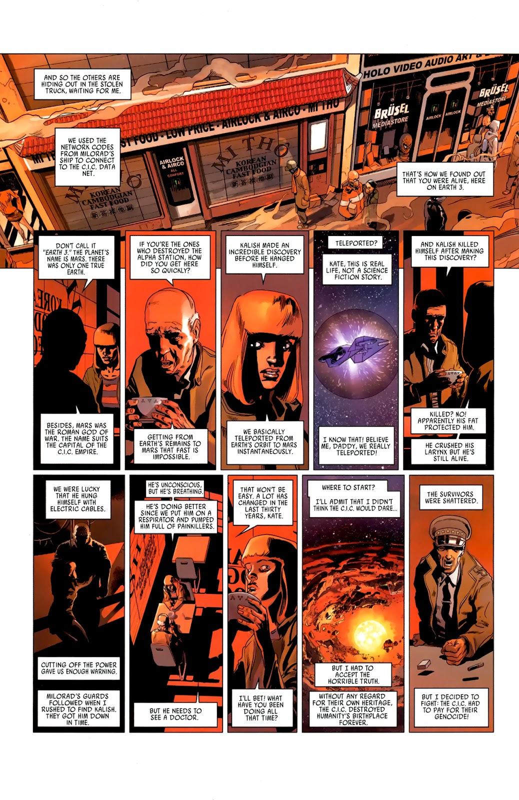 Read online Universal War One: Revelations comic -  Issue #3 - 12