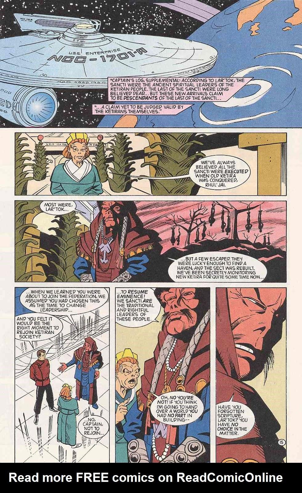 Read online Star Trek (1989) comic -  Issue # Annual 3 - 19