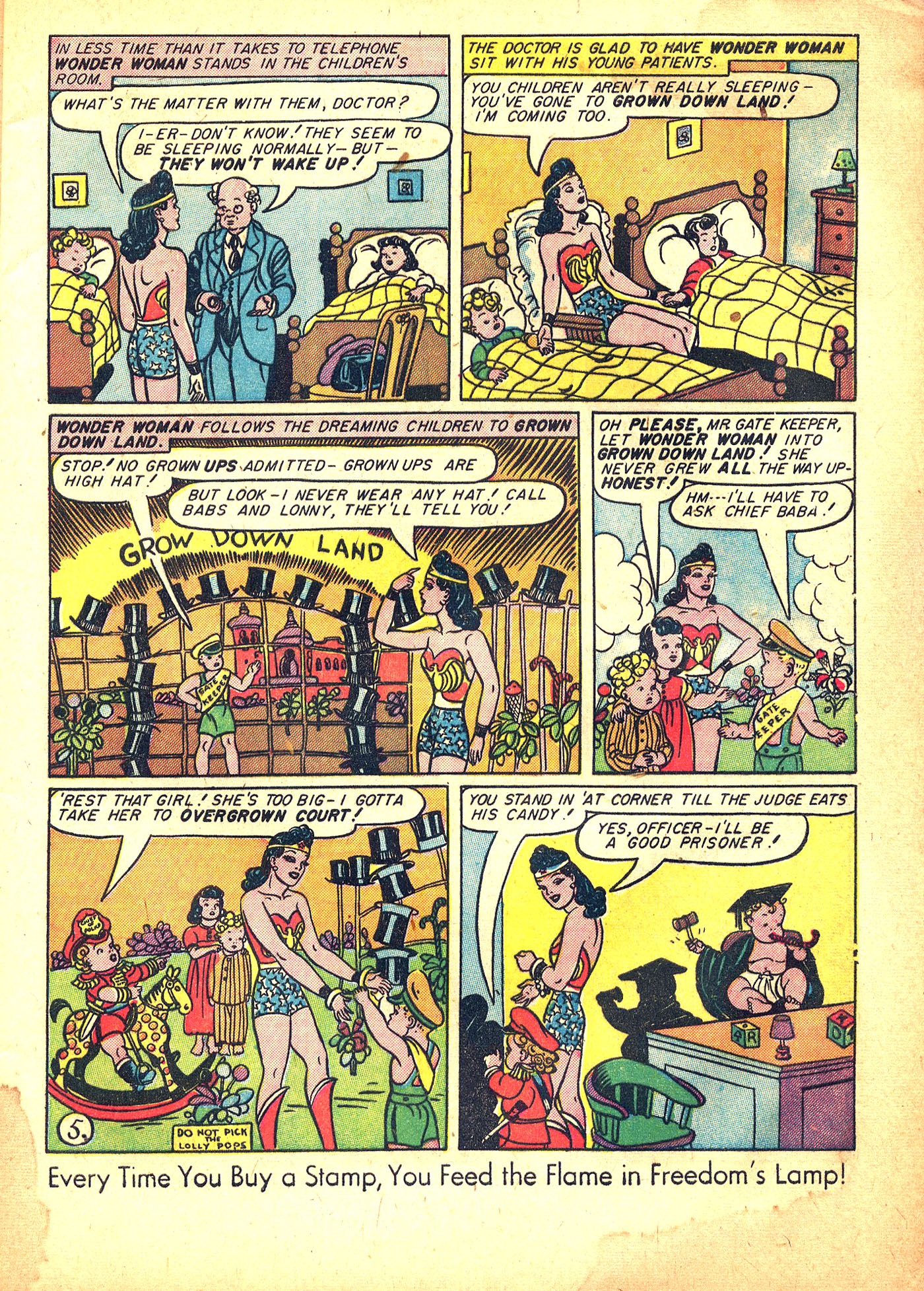Read online Sensation (Mystery) Comics comic -  Issue #31 - 7