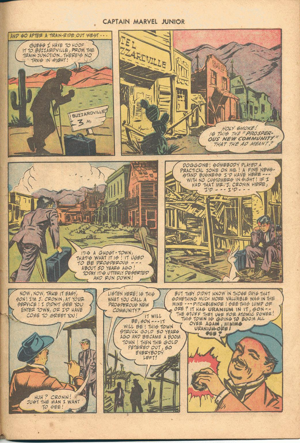 Captain Marvel, Jr. issue 38 - Page 38